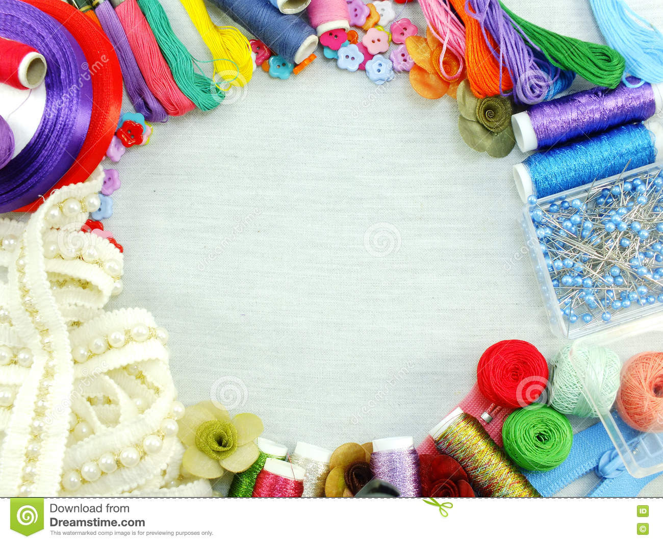 Equipment for sewing accessories for handmade sewing kit for Sewing materials
