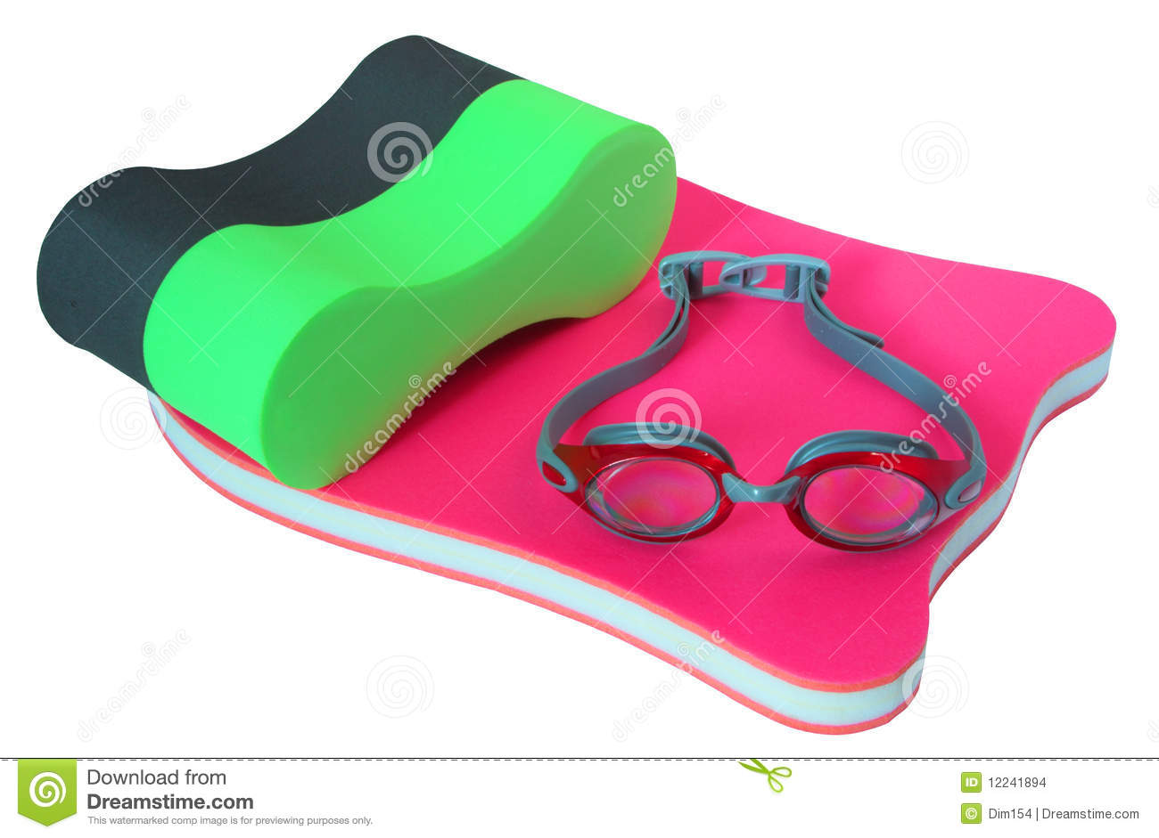 Equipment For Swimming Stock Images