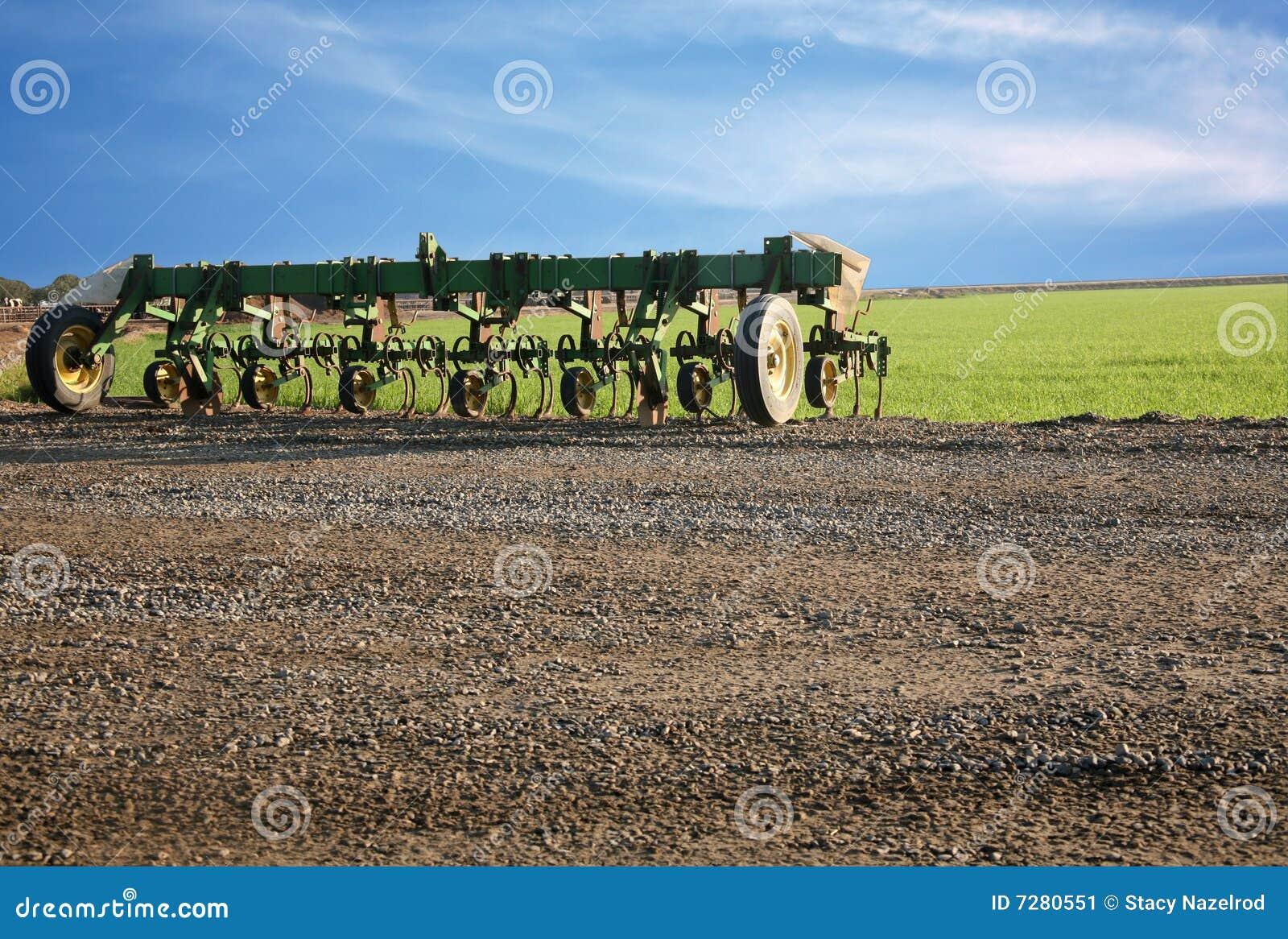 Equipo de granja del cultivador
