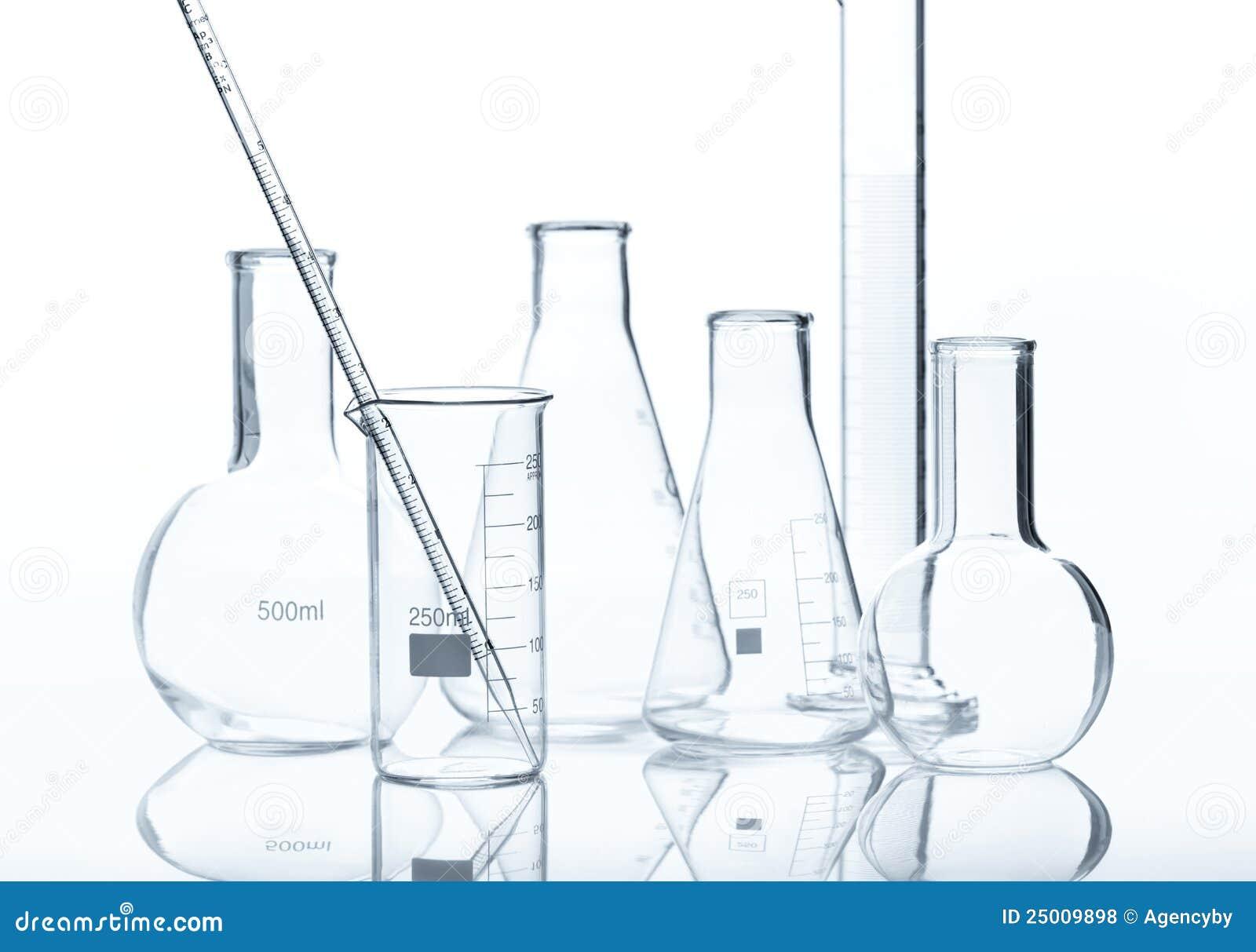 Equipo de laboratorio de cristal foto de archivo imagen for Equipos de laboratorio