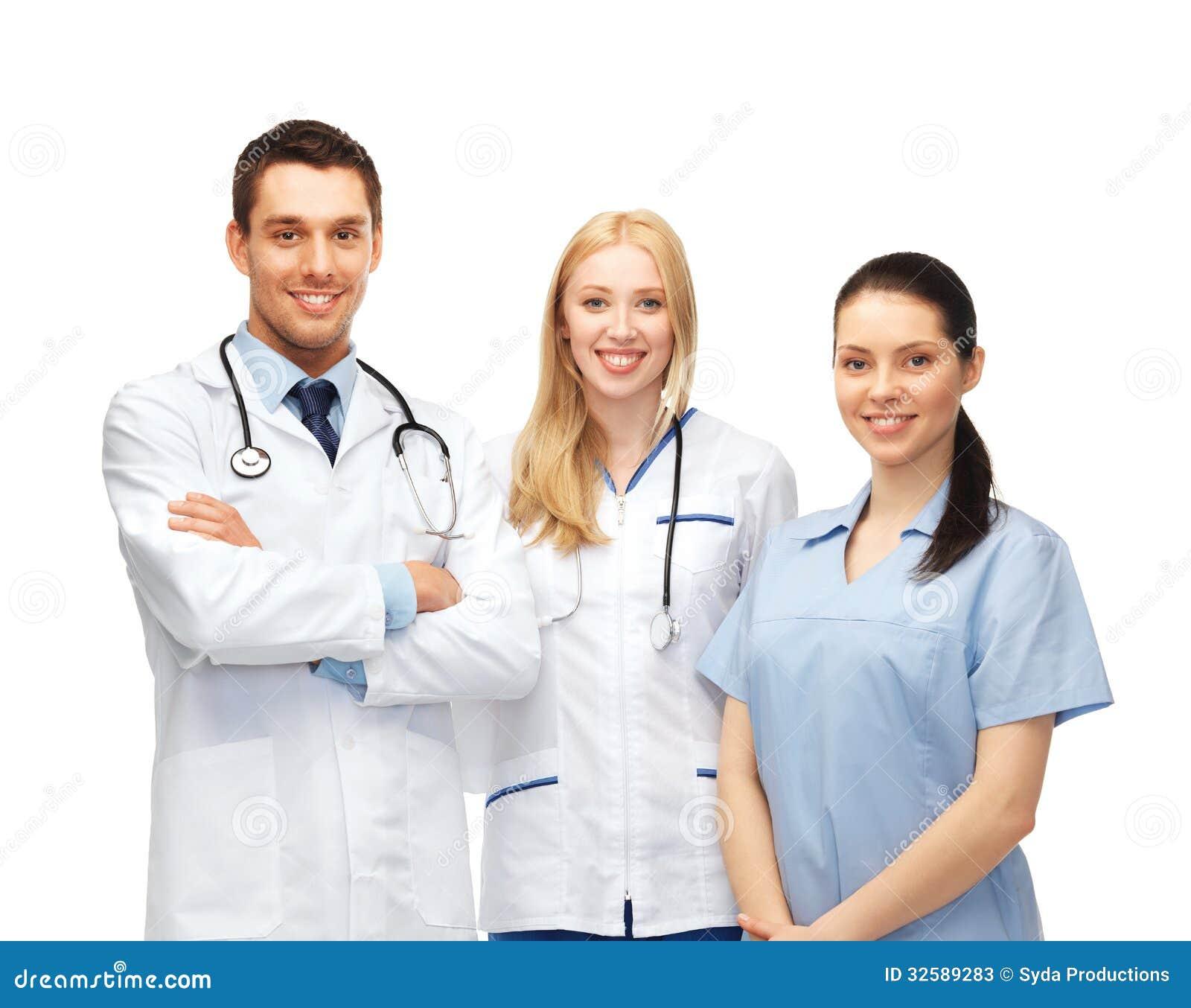 equipo de los jóvenes o grupo de doctores imagen de archivo - imagen