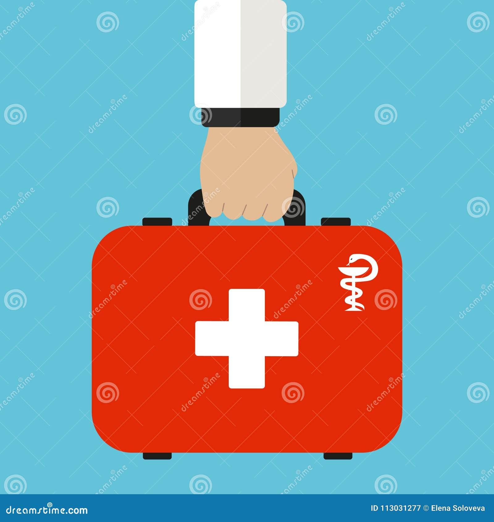 Equipo de primeros auxilios en Atención sanitaria, hospital y diagnósticos médicos