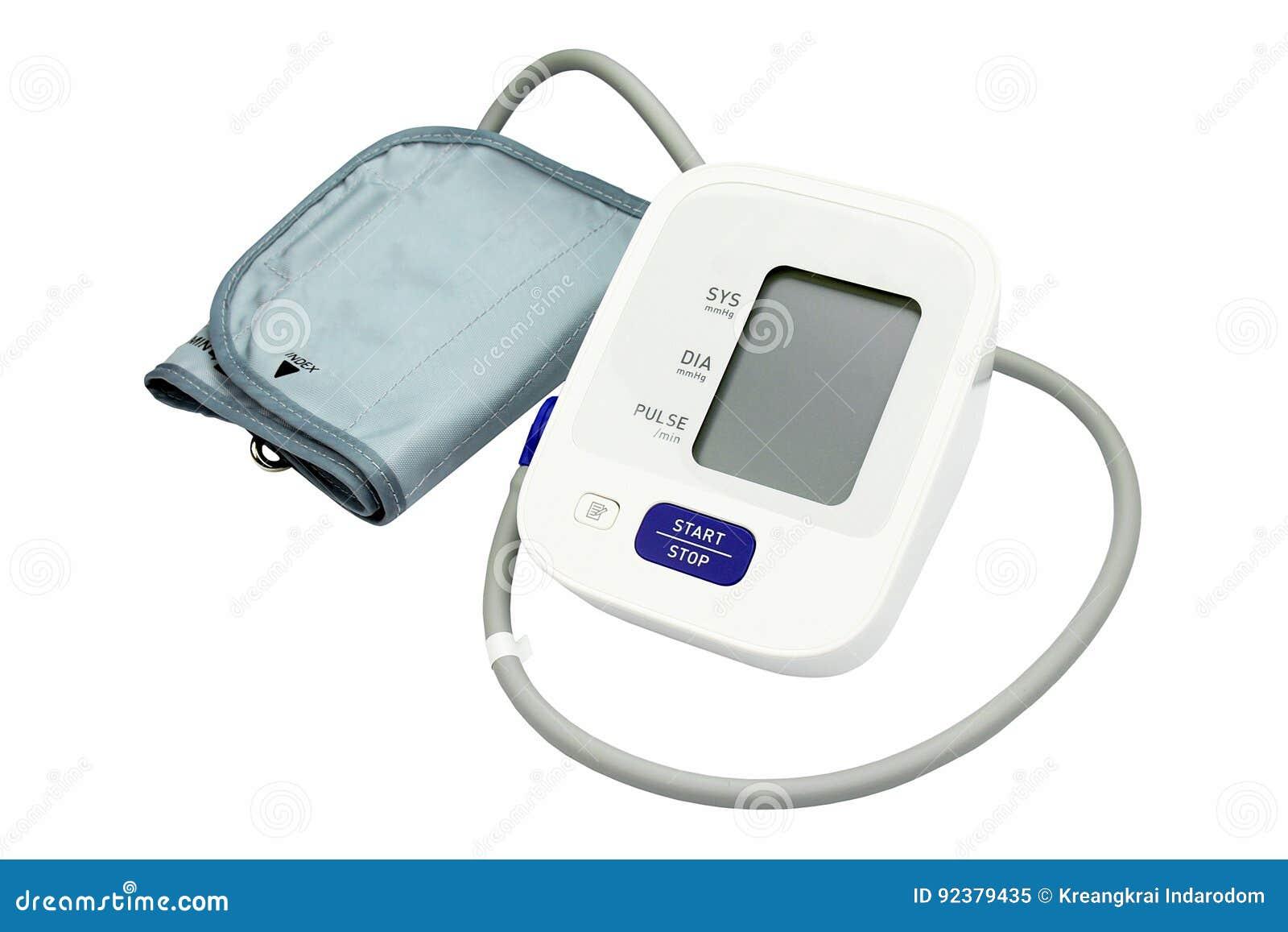 Equipo del monitor de la presión arterial de Digitaces, médico y del examen