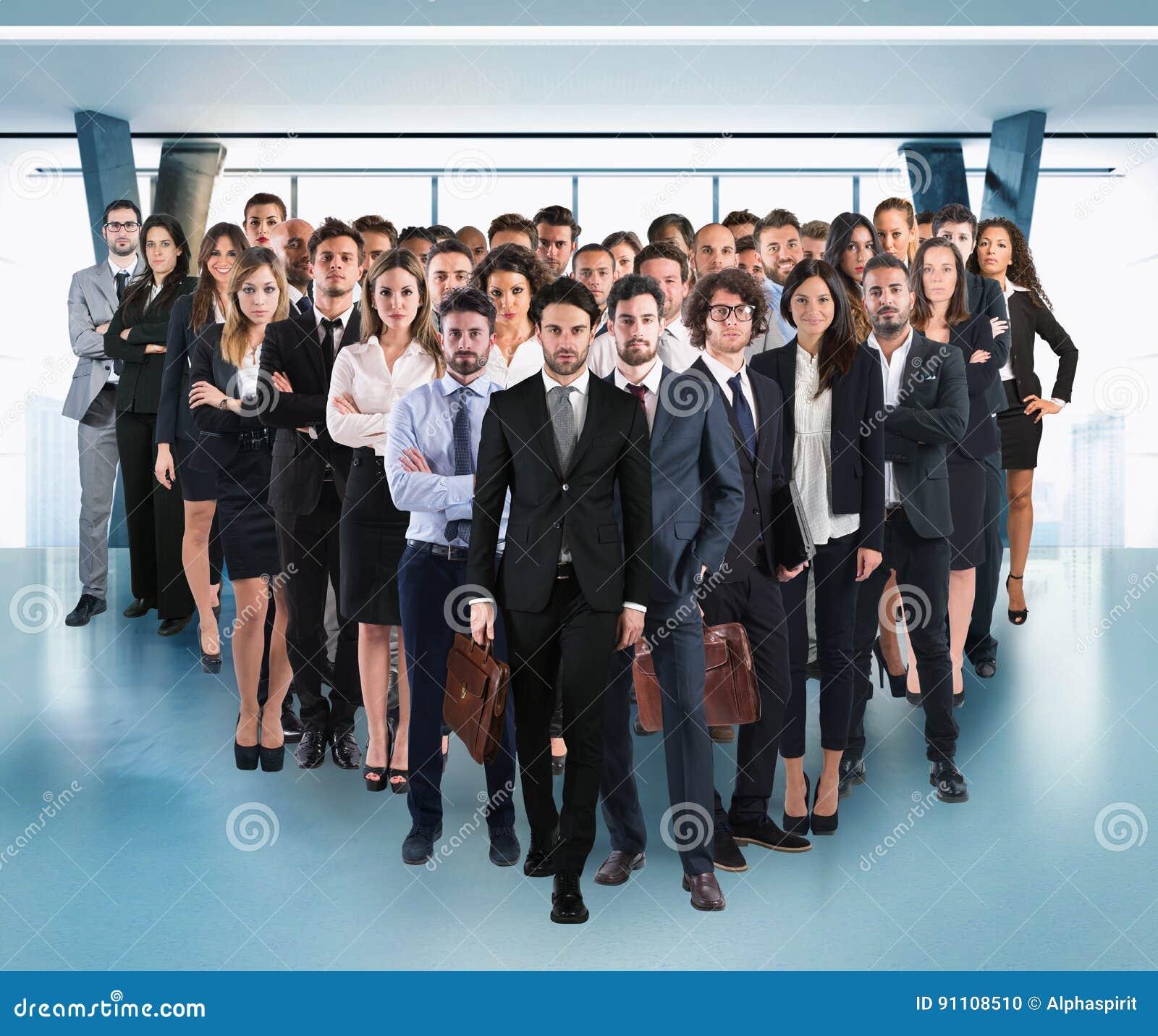 Equipo del negocio corporativo