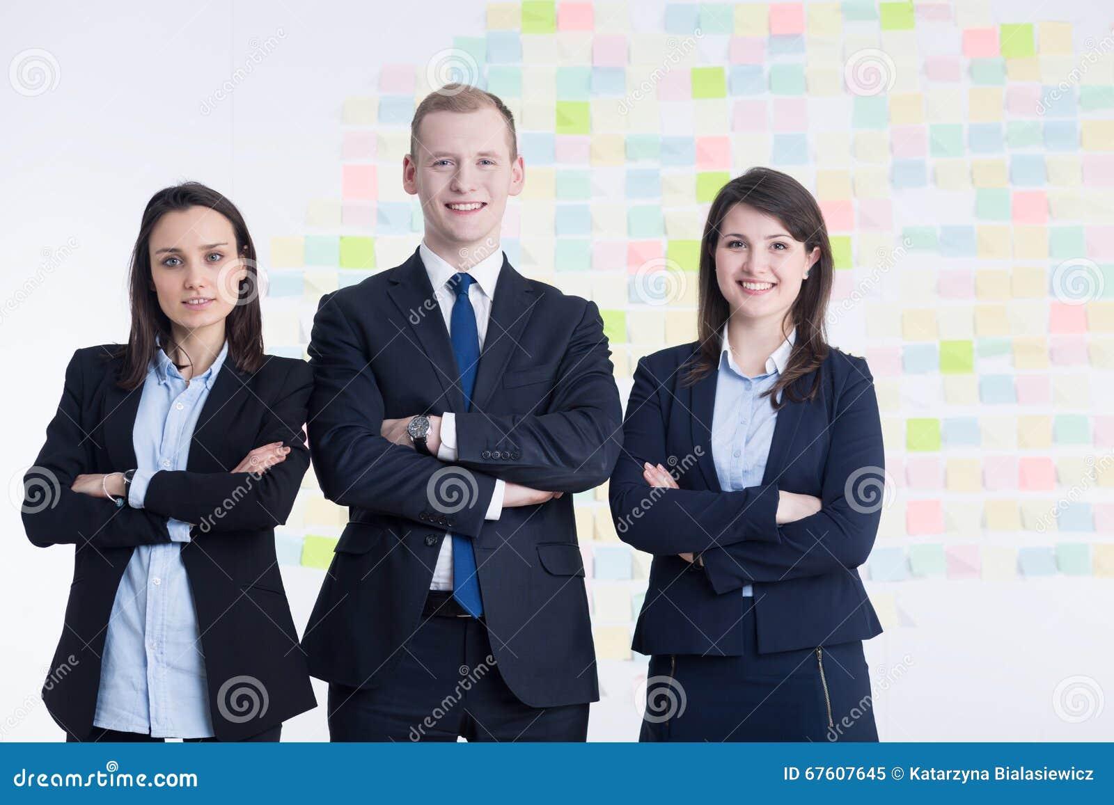 Equipo ideal en la corporación