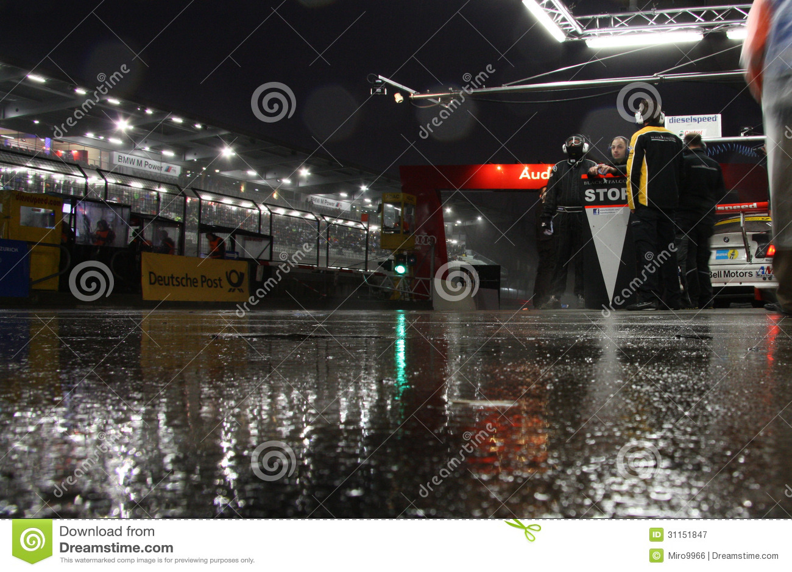 Equipo mojado