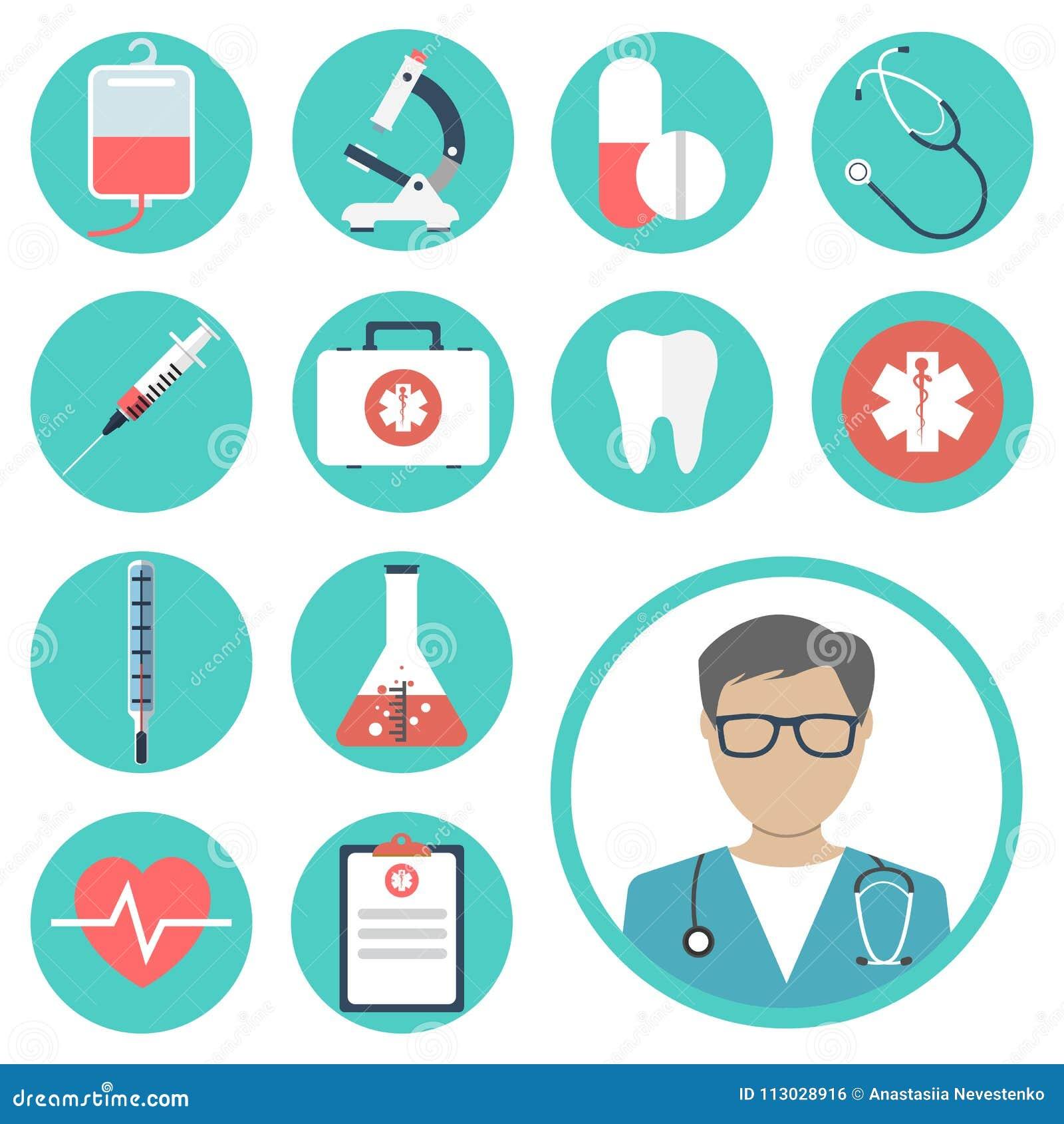 Equipos médicos, herramientas