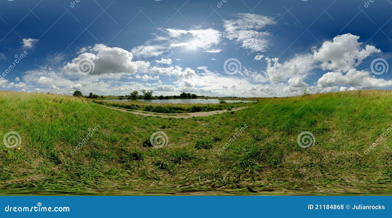Equirectangular panorama 360 degrees