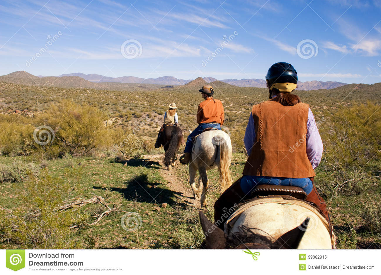 Equitação no deserto