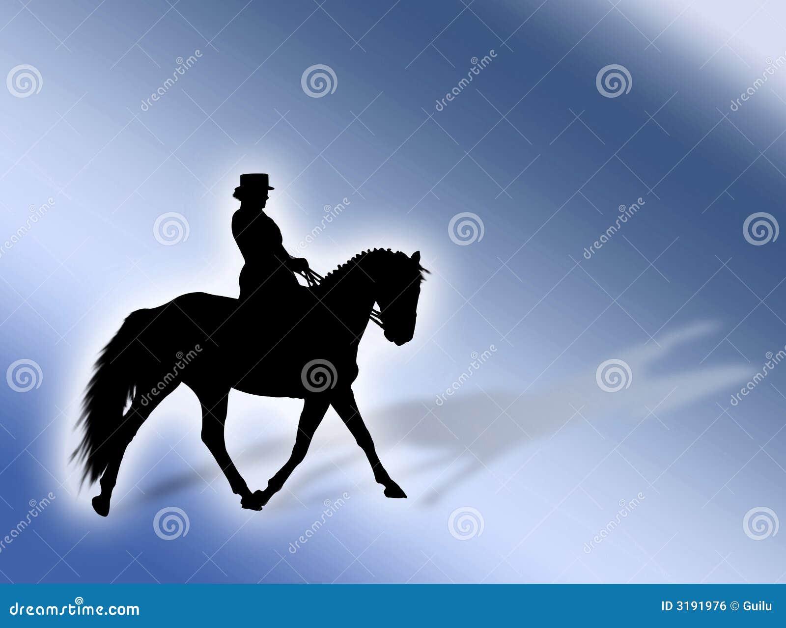 Download Equitation stock illustration. Illustration of riding - 3191976