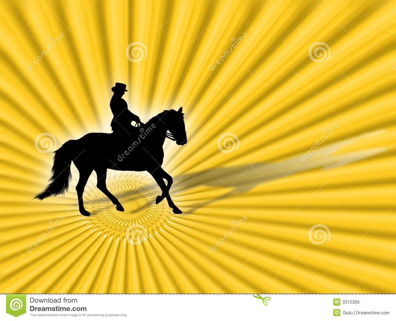 Download Equitation stock illustration. Illustration of country - 3372369