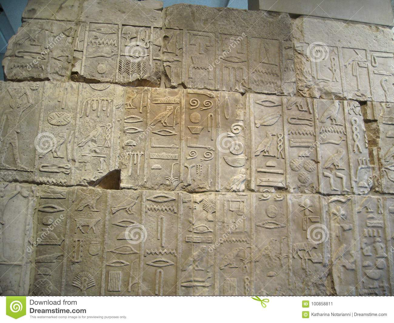 Ancient egyptian stone carvings editorial photo image of