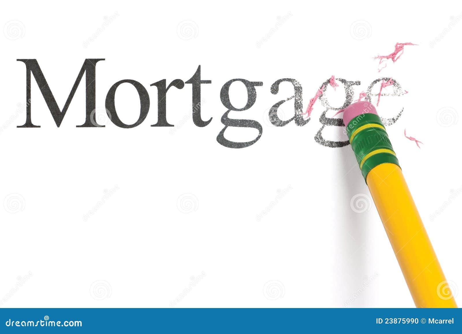 Download Erasing Mortgage stock photo. Image of concept, delete - 23875990
