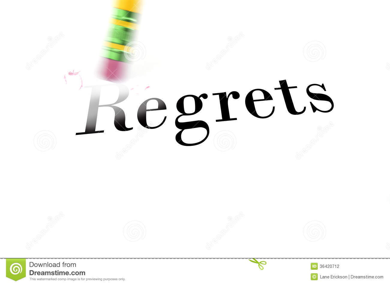 Essay on regrets in life