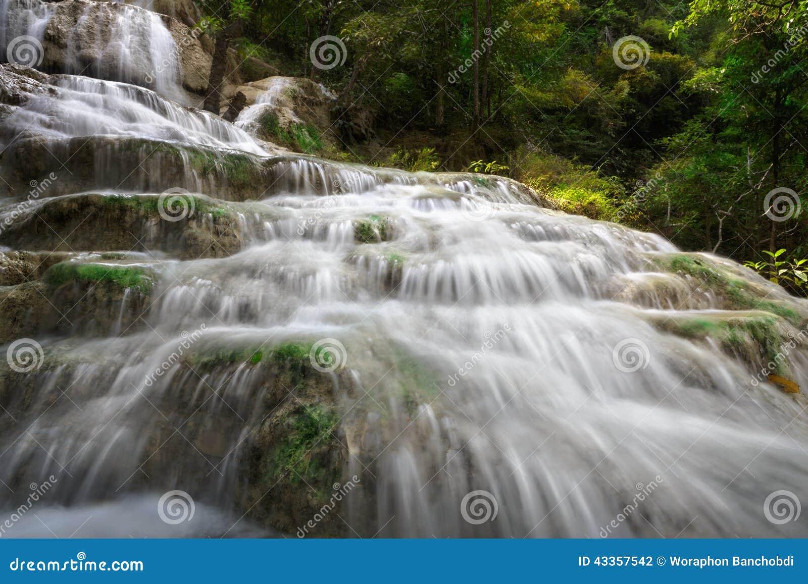 Erawan водопад