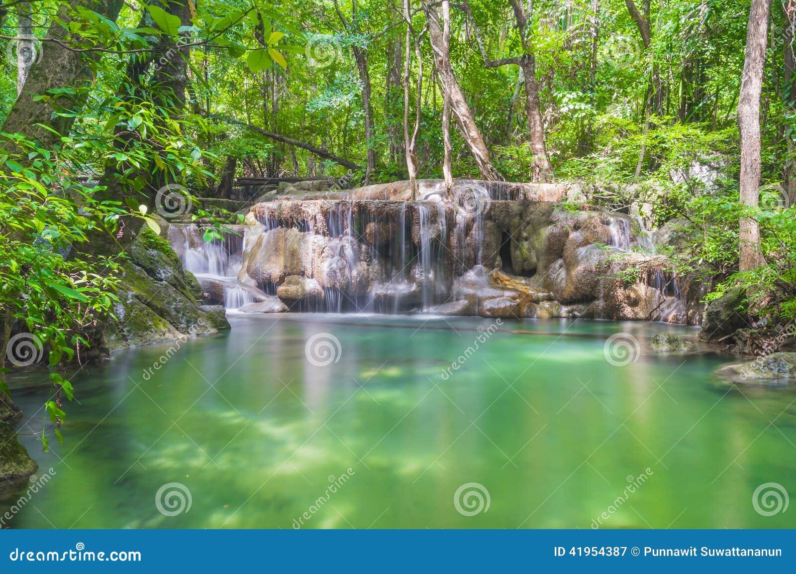 Erawan wodospadu