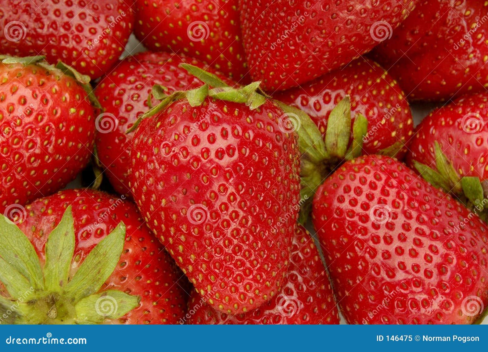 Erdbeere-Hintergrund