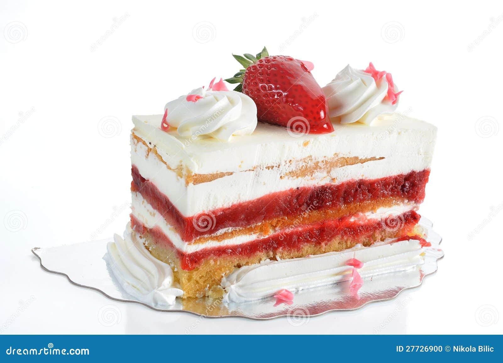Erdbeere-Kuchen