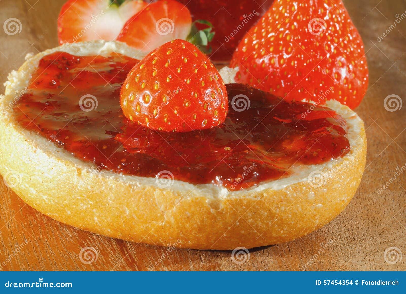Erdbeere, Stau, Marmelade