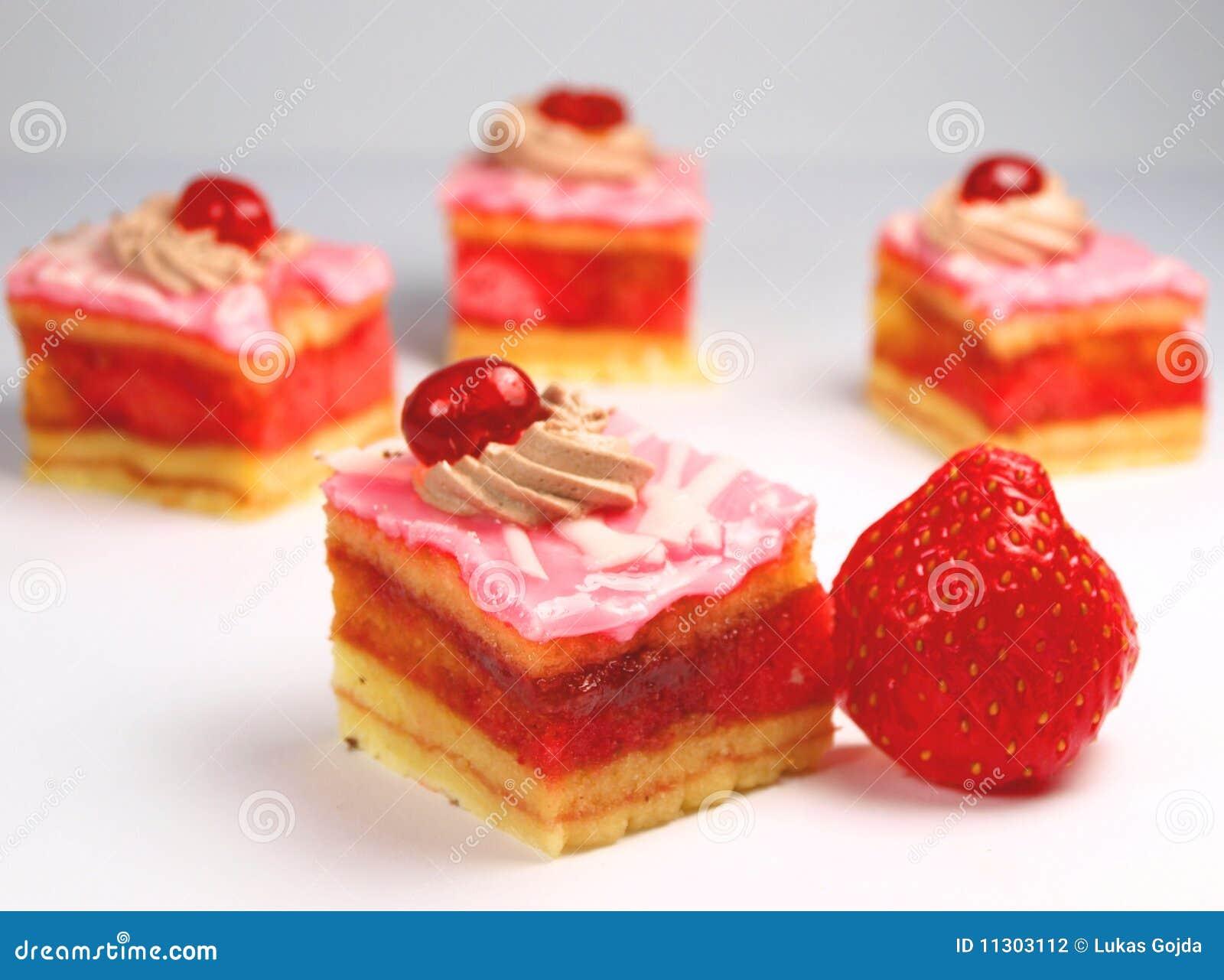 Erdbeerekuchen