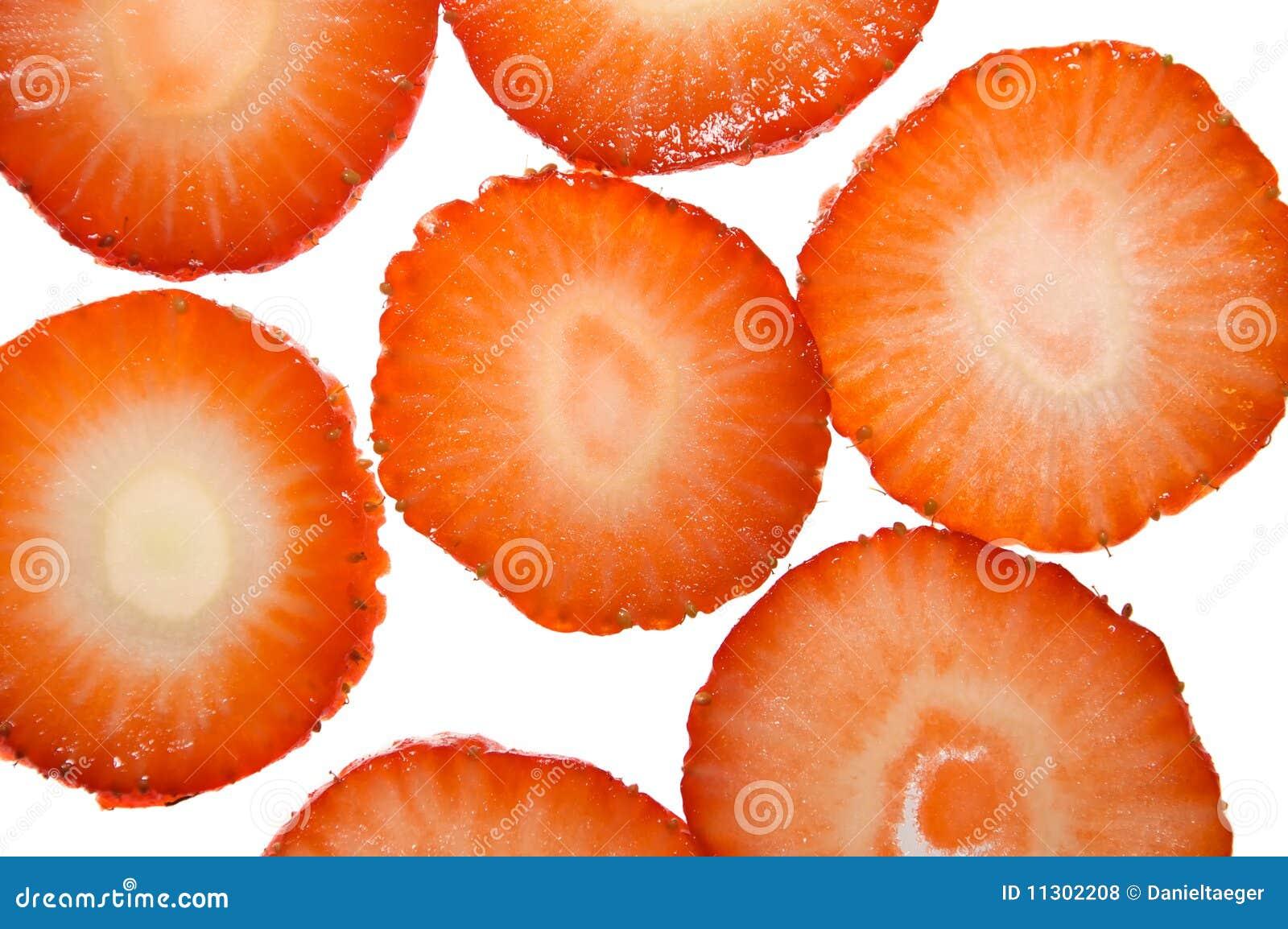 Erdbeerescheiben