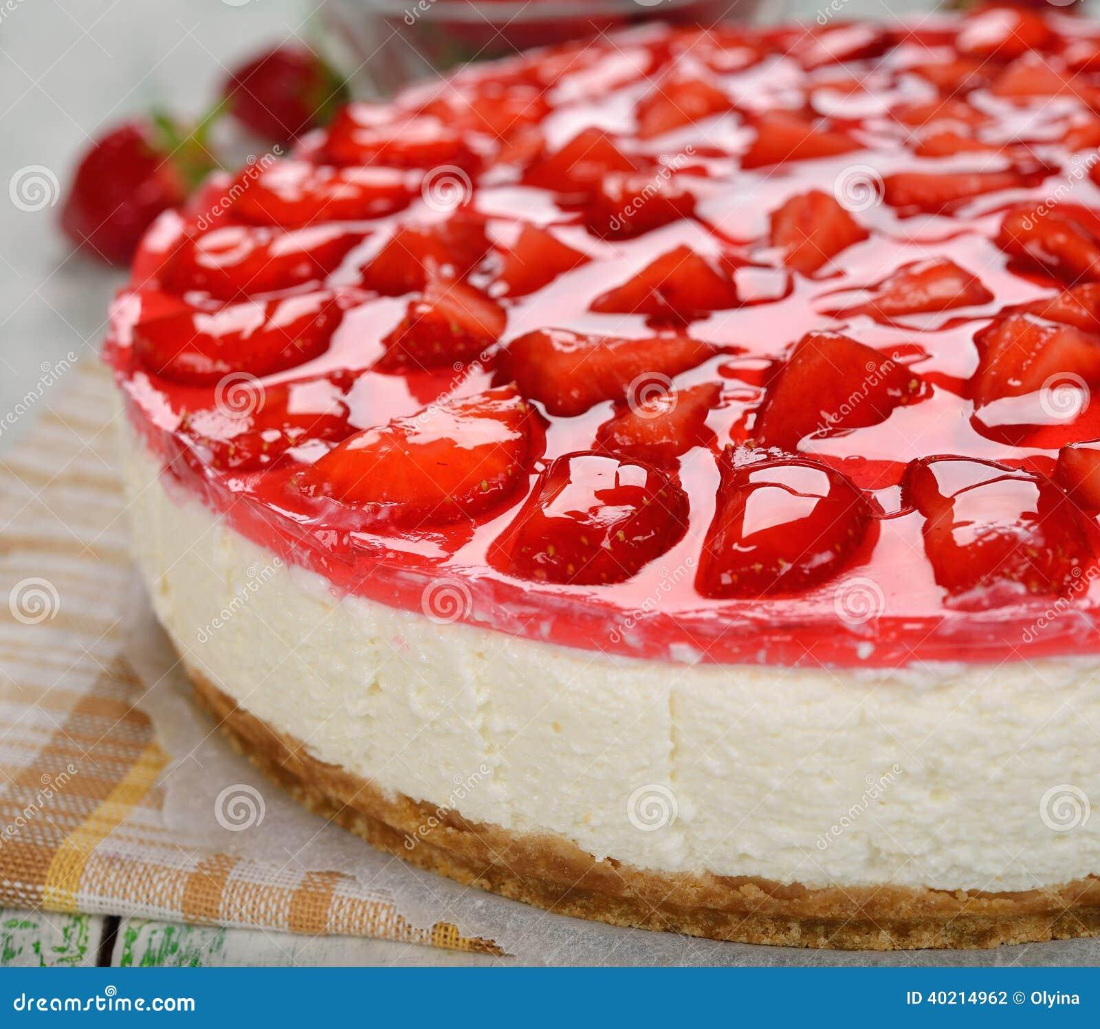 Erdbeerkäsekuchen
