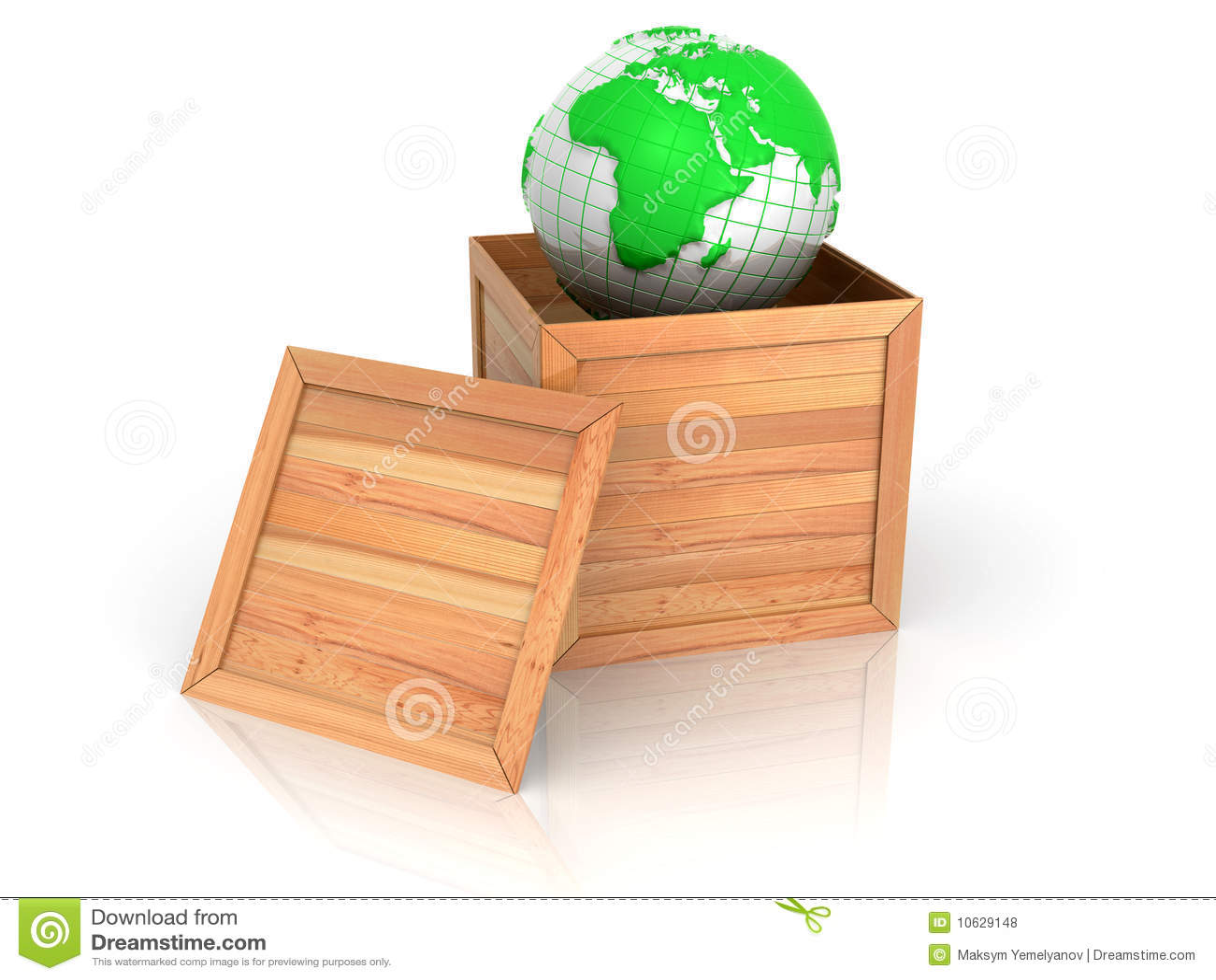 Erde im Rahmen stock abbildung. Illustration von pappe - 10629148