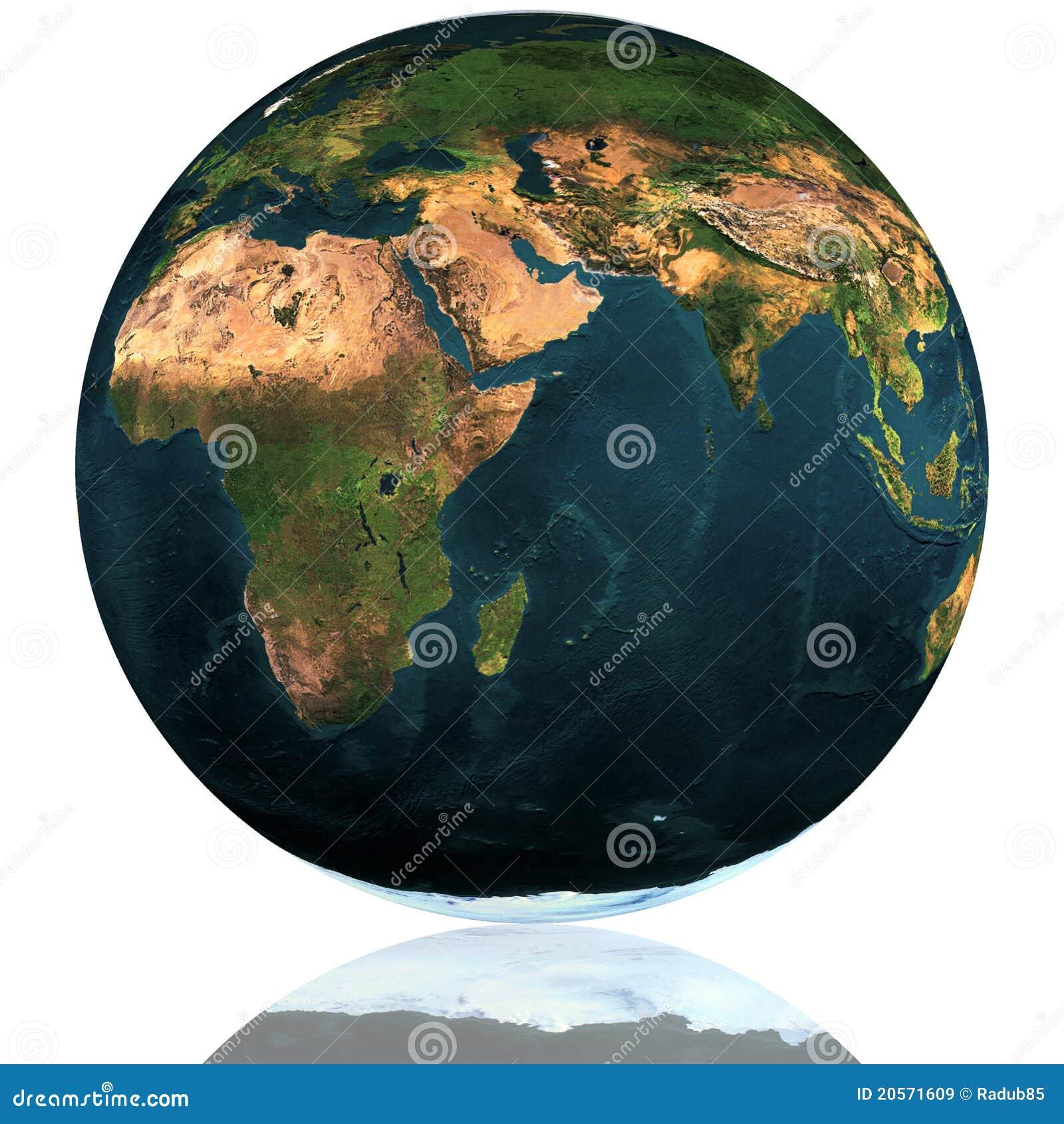 Erde-Kugel