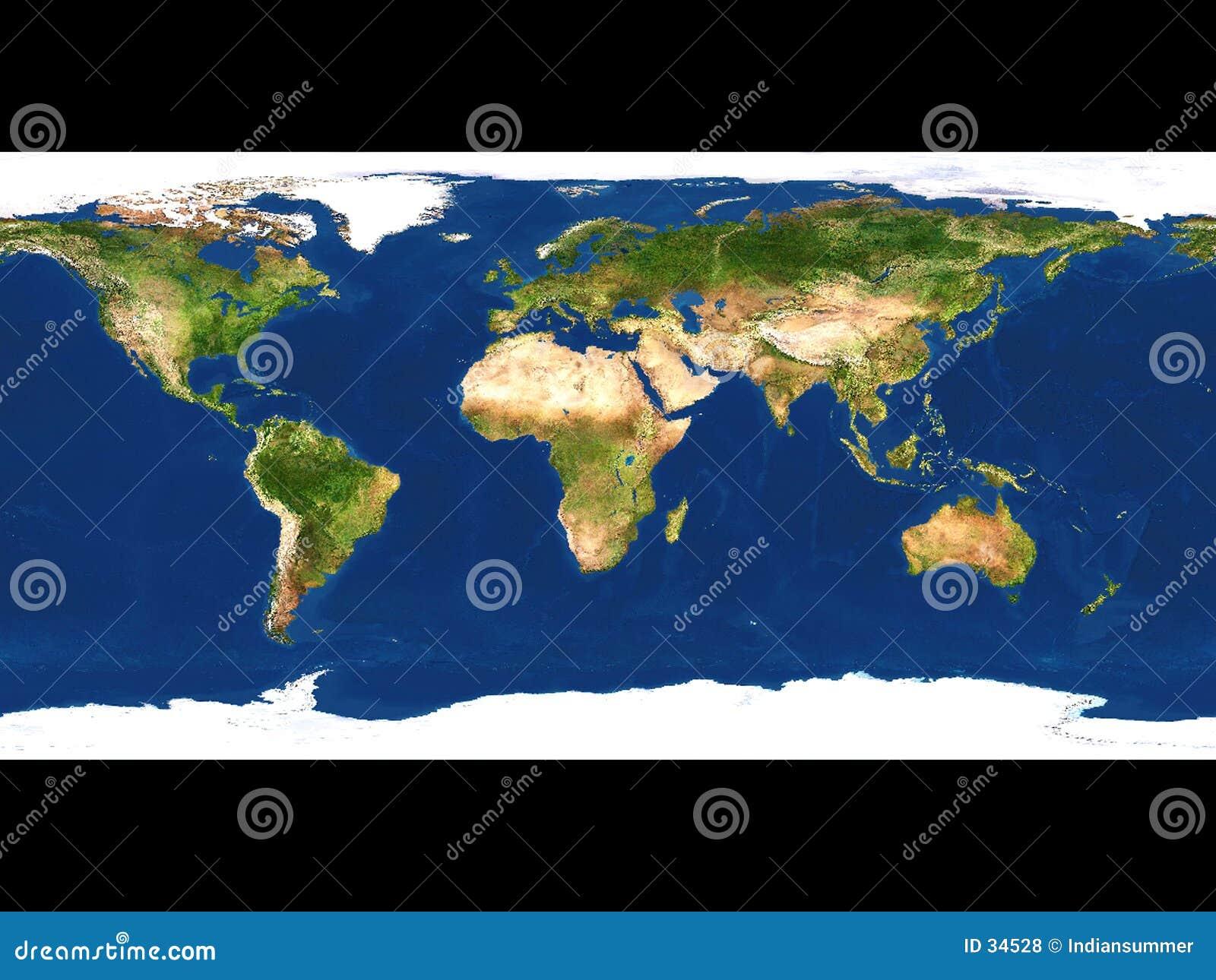 Erdekarte