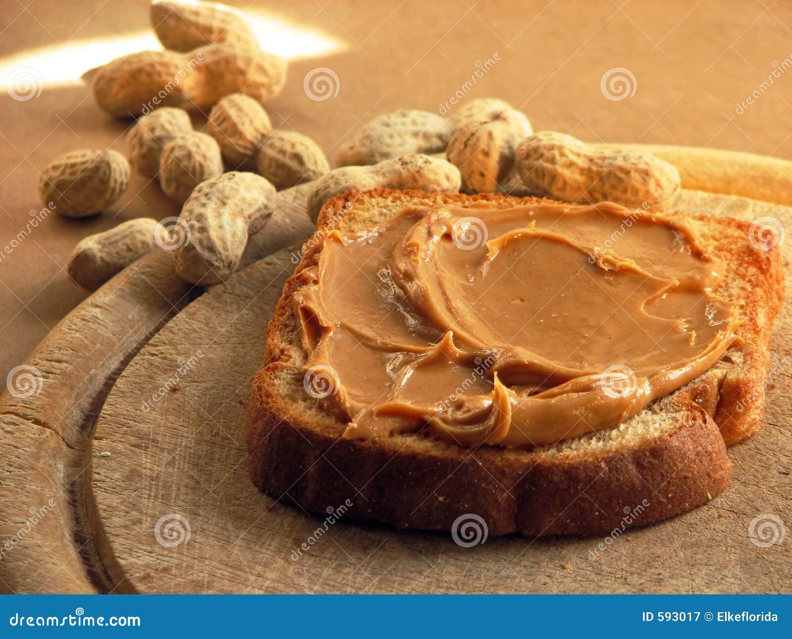 Erdnussbuttersandwich