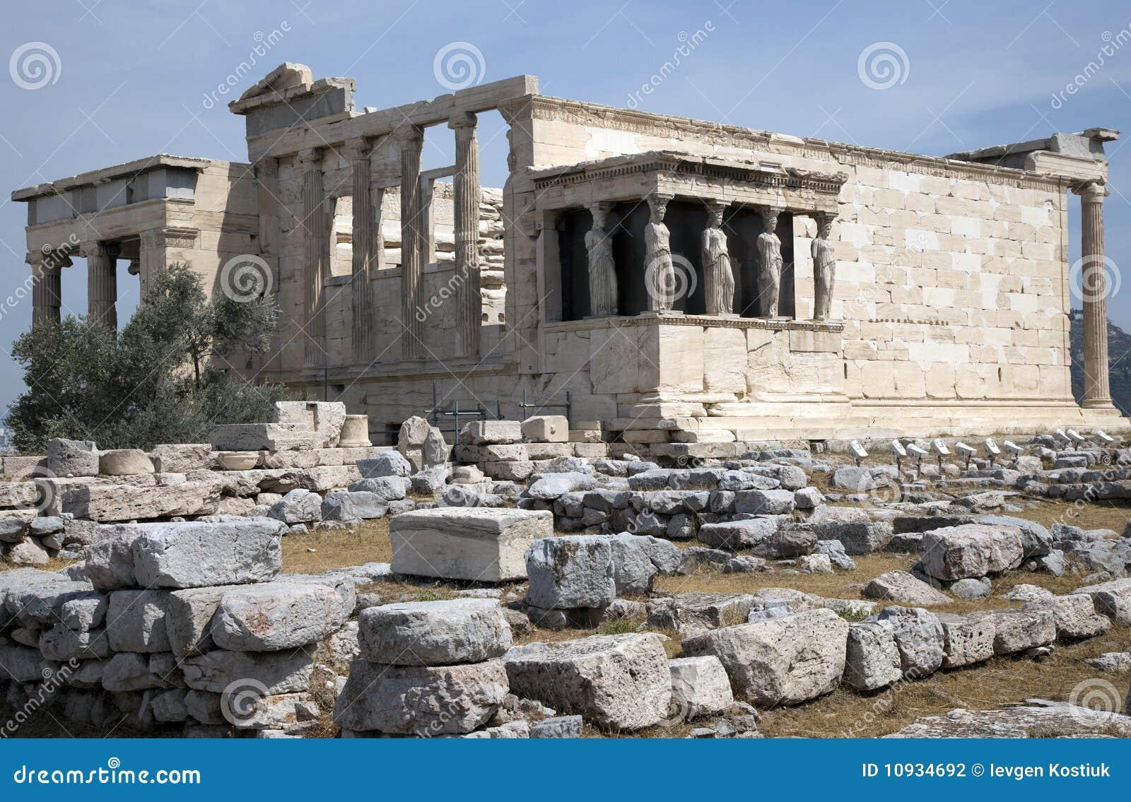 Erechtheion athens акрополя
