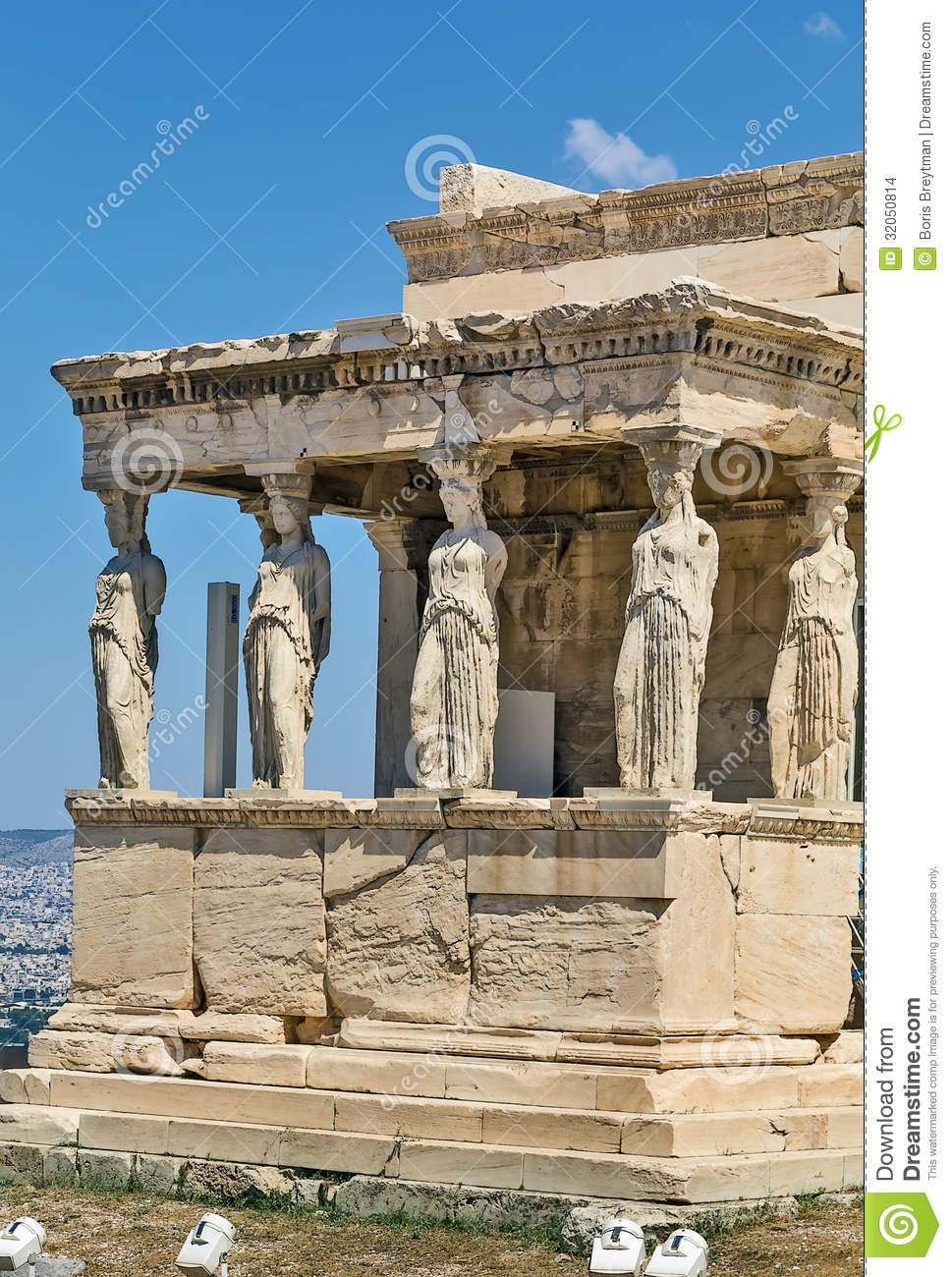 erechtheion  athens stock images image 32050814 ancient greek clip art ancient greece clipart black and white