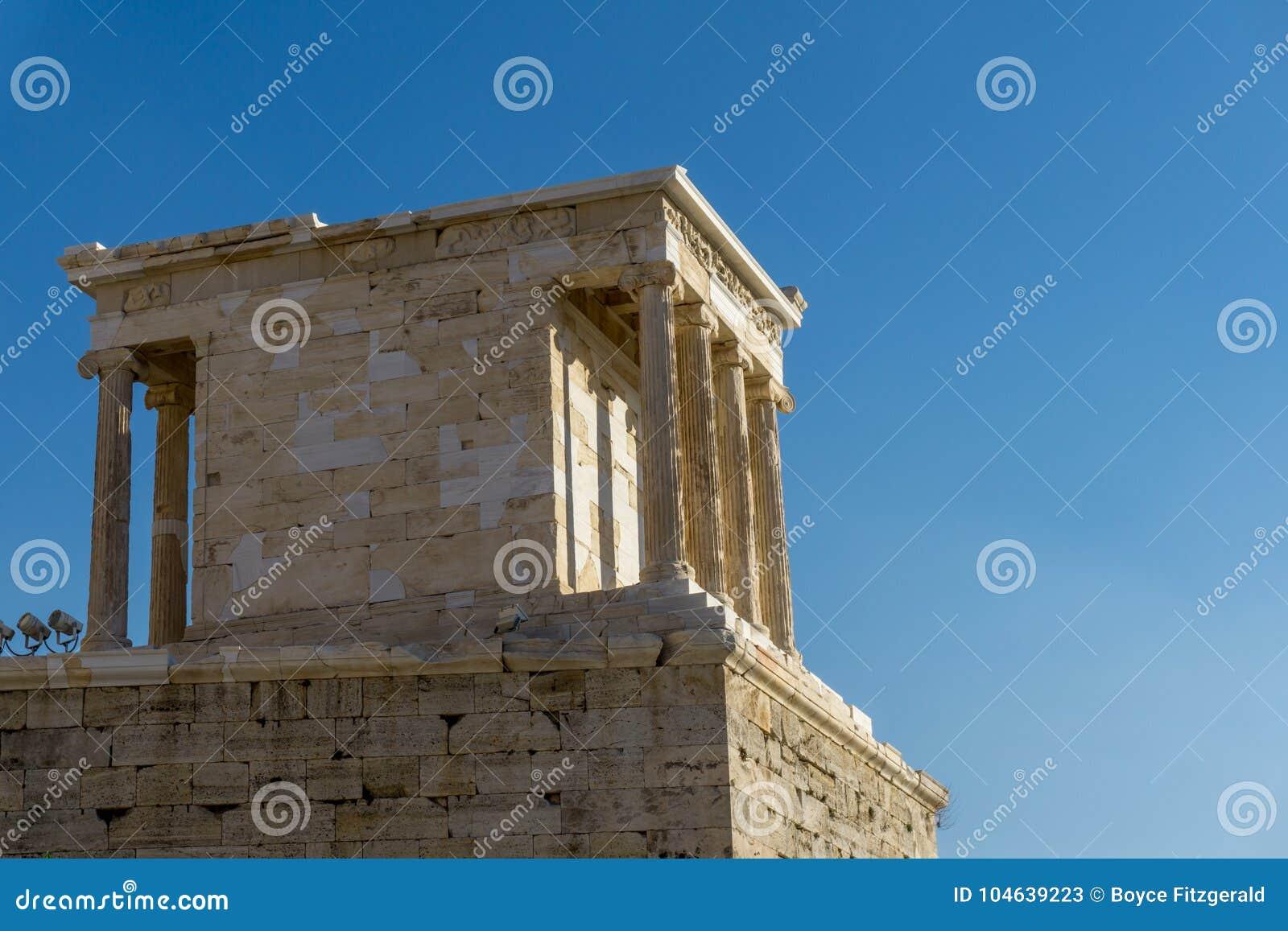 Download Erechtheion Of Erechtheum Zijn Een Oude Griekse Tempel Op De Akropolis Van Athene In Griekenland Stock Afbeelding - Afbeelding bestaande uit acropolis, steen: 104639223
