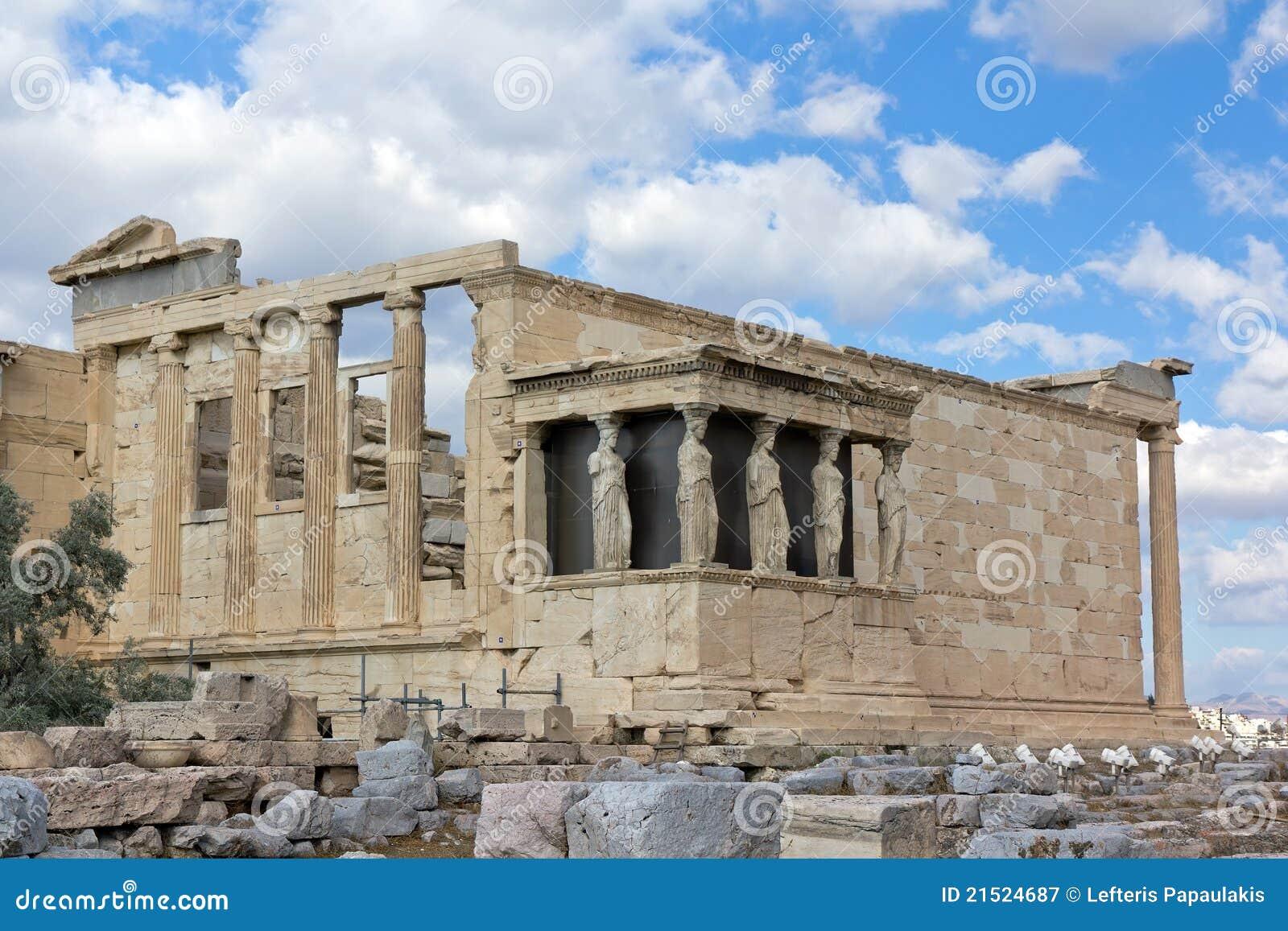 Erechtheum, Acropolis, Greece