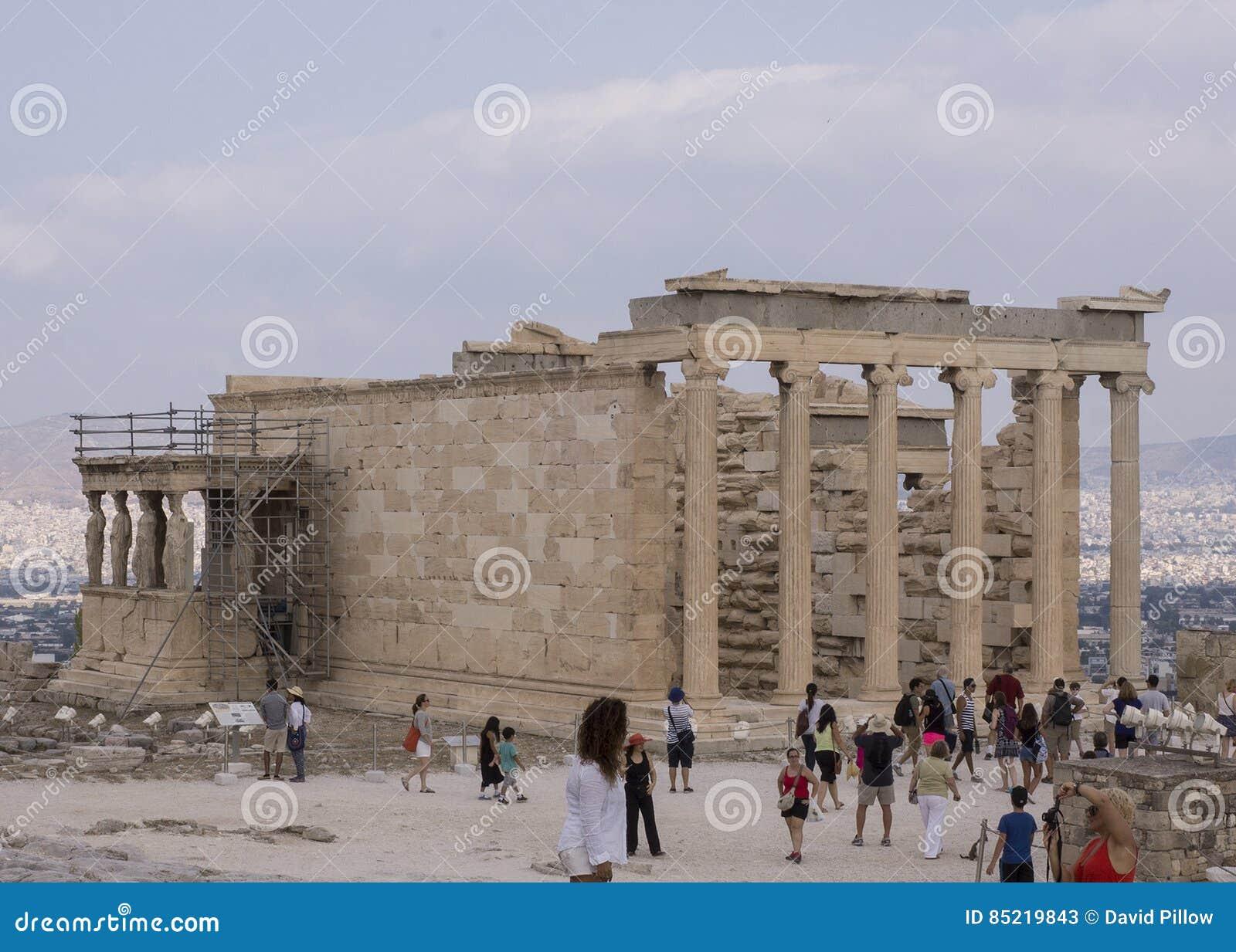 The Erechtheum, a Greek Temple