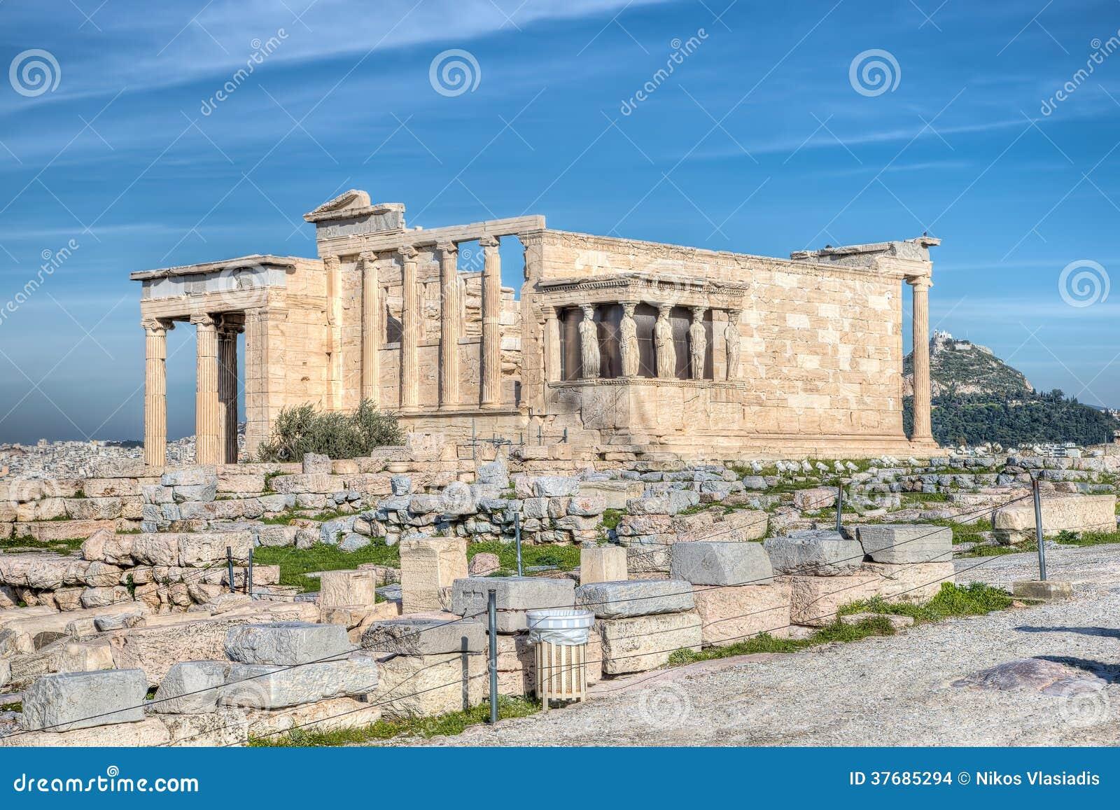 The Erecthion, Athens