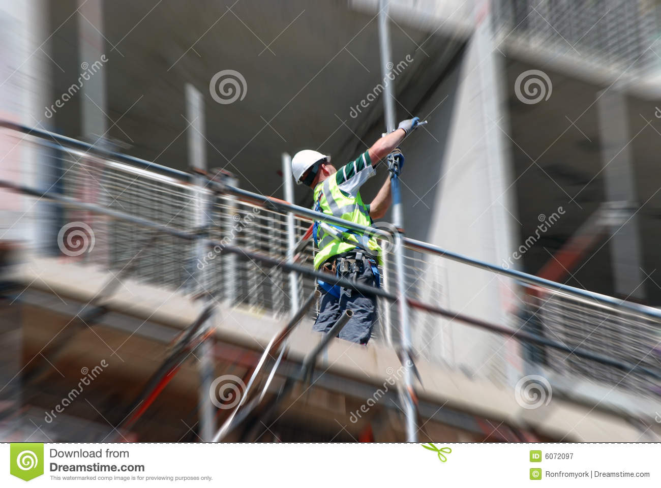 erecting scaffold barrier royalty stock photography image erecting scaffold barrier