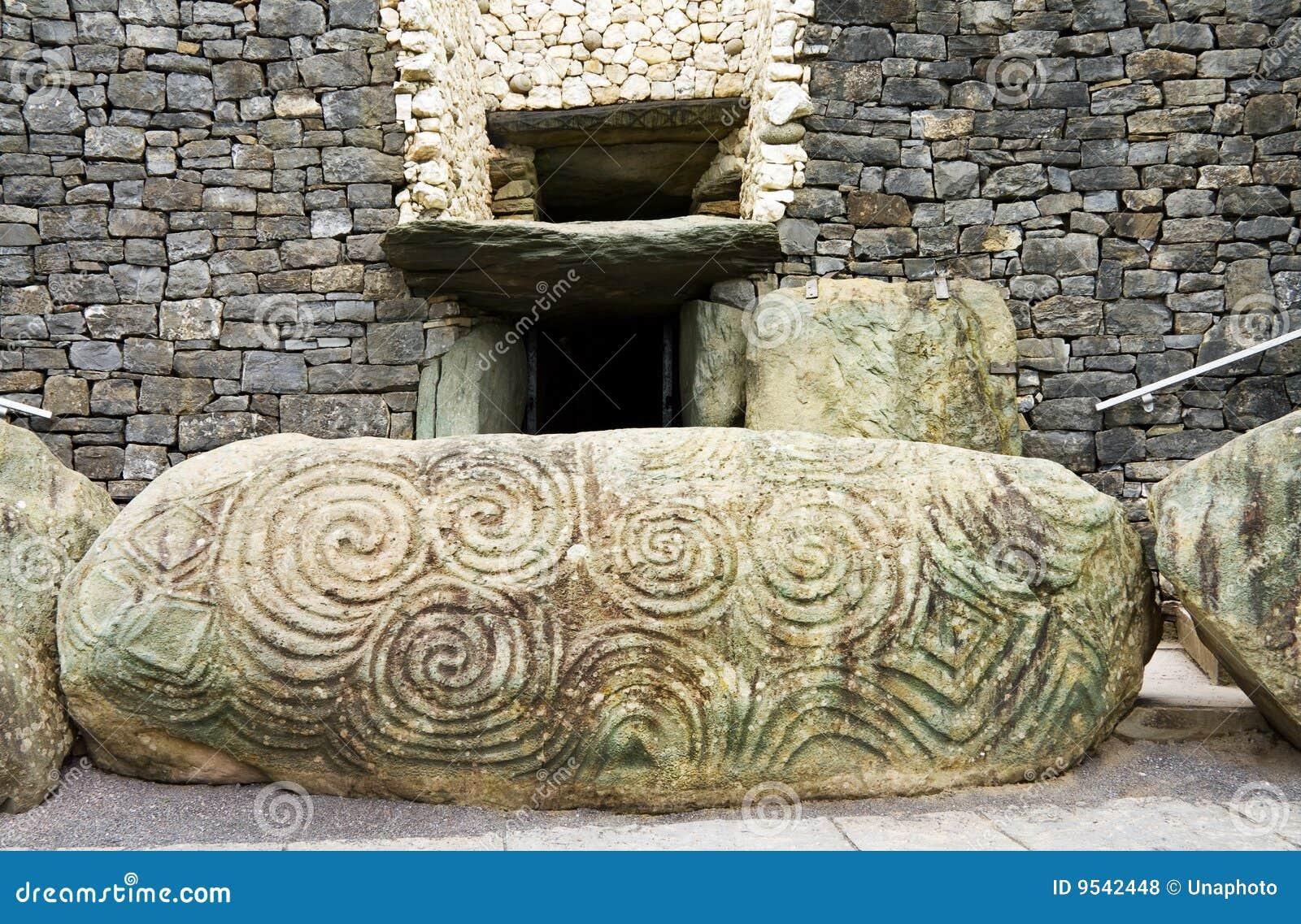 Eredità dell Unesco - spirale triplice a Newgrange