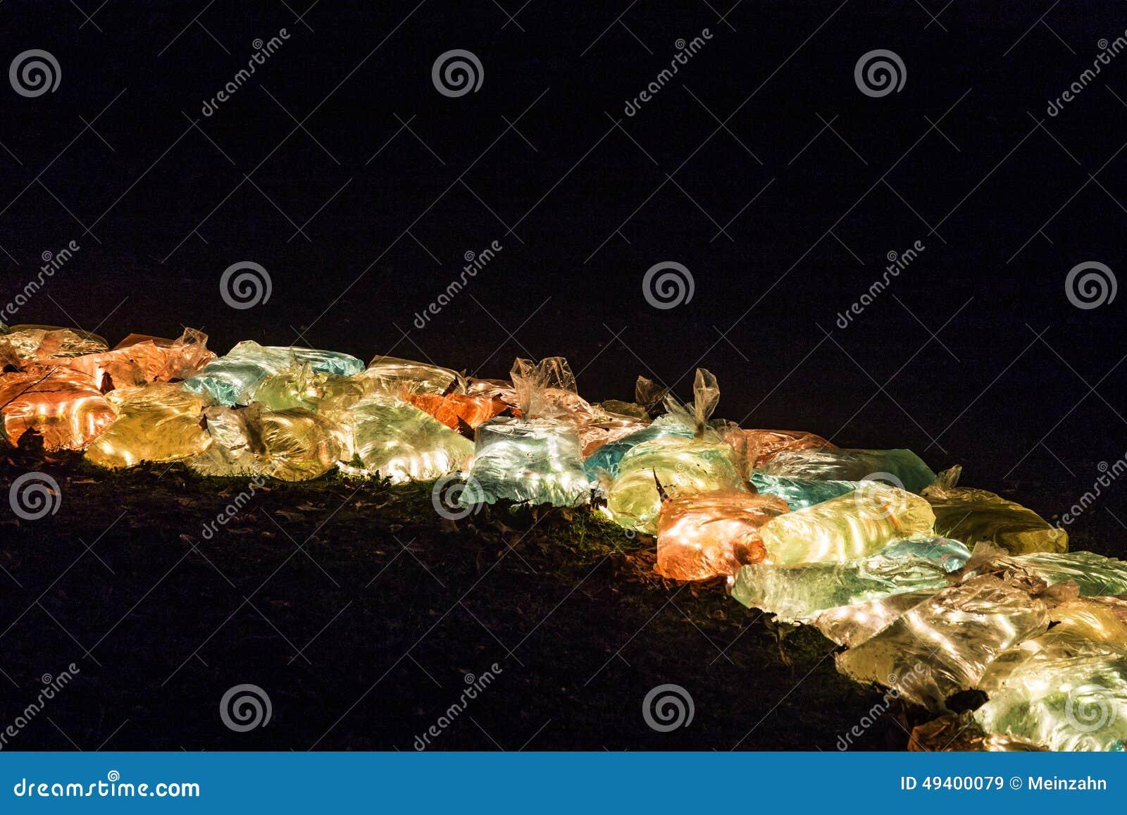 Download Ereignis Winterlichter Im Palmgarden Redaktionelles Stockbild - Bild von berühmt, palmen: 49400079