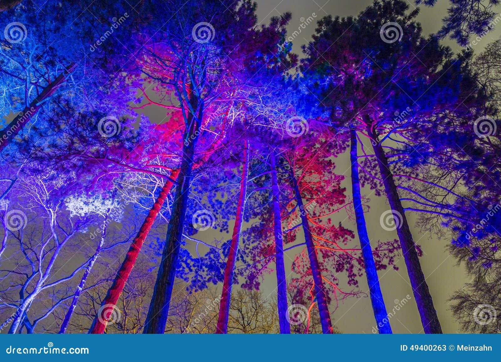 Download Ereignis Winterlichter Im Palmgarden Redaktionelles Stockfoto - Bild von historisch, frankfurt: 49400263