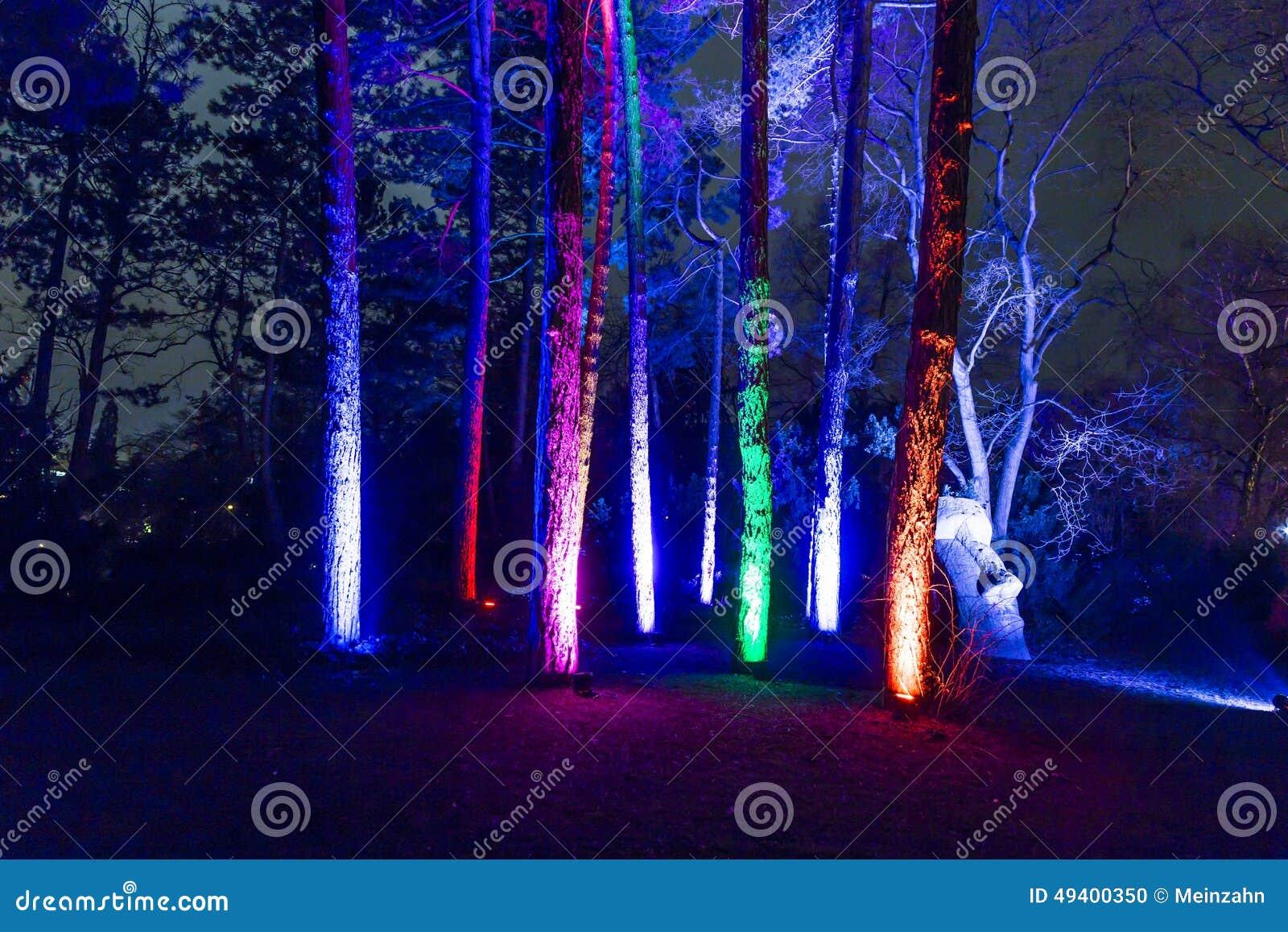 Download Ereignis Winterlichter Im Palmgarden Redaktionelles Bild - Bild von nave, fassade: 49400350