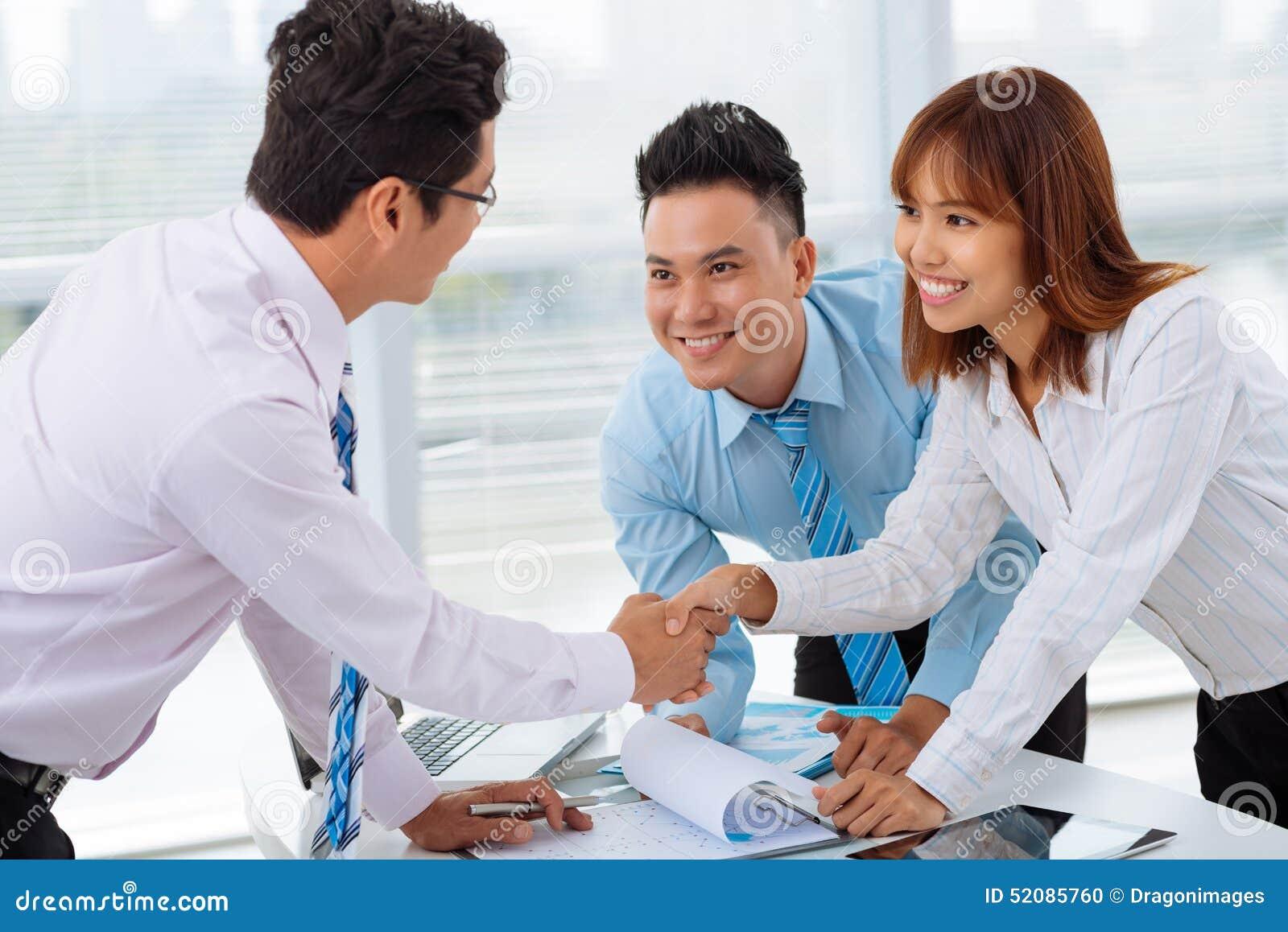 Erfolgreiches Abkommen
