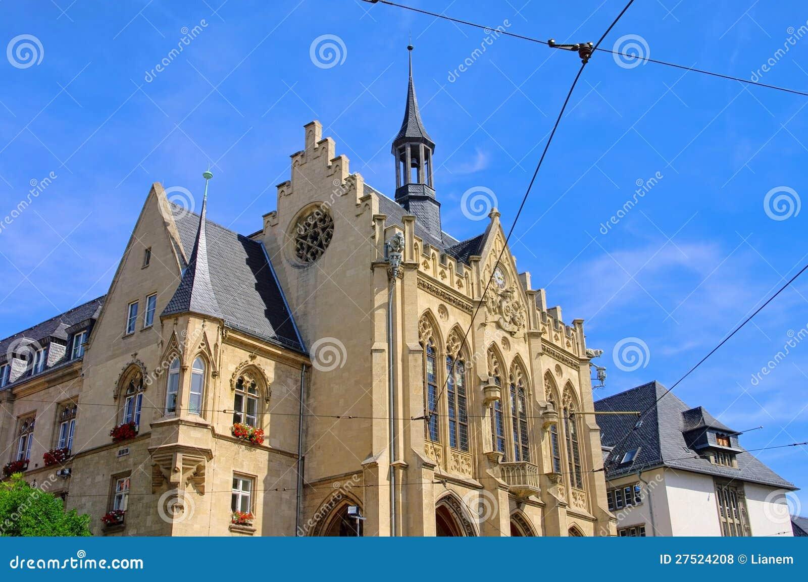 erfurt rathaus stockfoto bild von stadt gotisch aufsatz 27524208. Black Bedroom Furniture Sets. Home Design Ideas