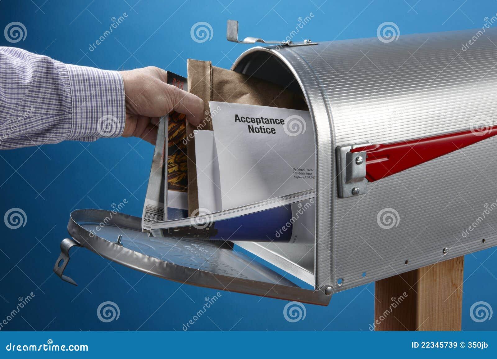 Erhalten der Post