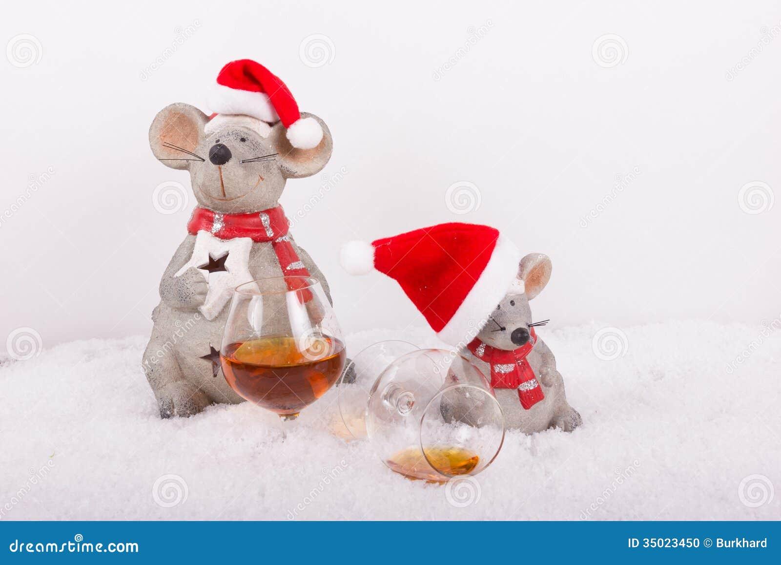 erheiterndes weihnachten im schnee stockfoto bild von. Black Bedroom Furniture Sets. Home Design Ideas