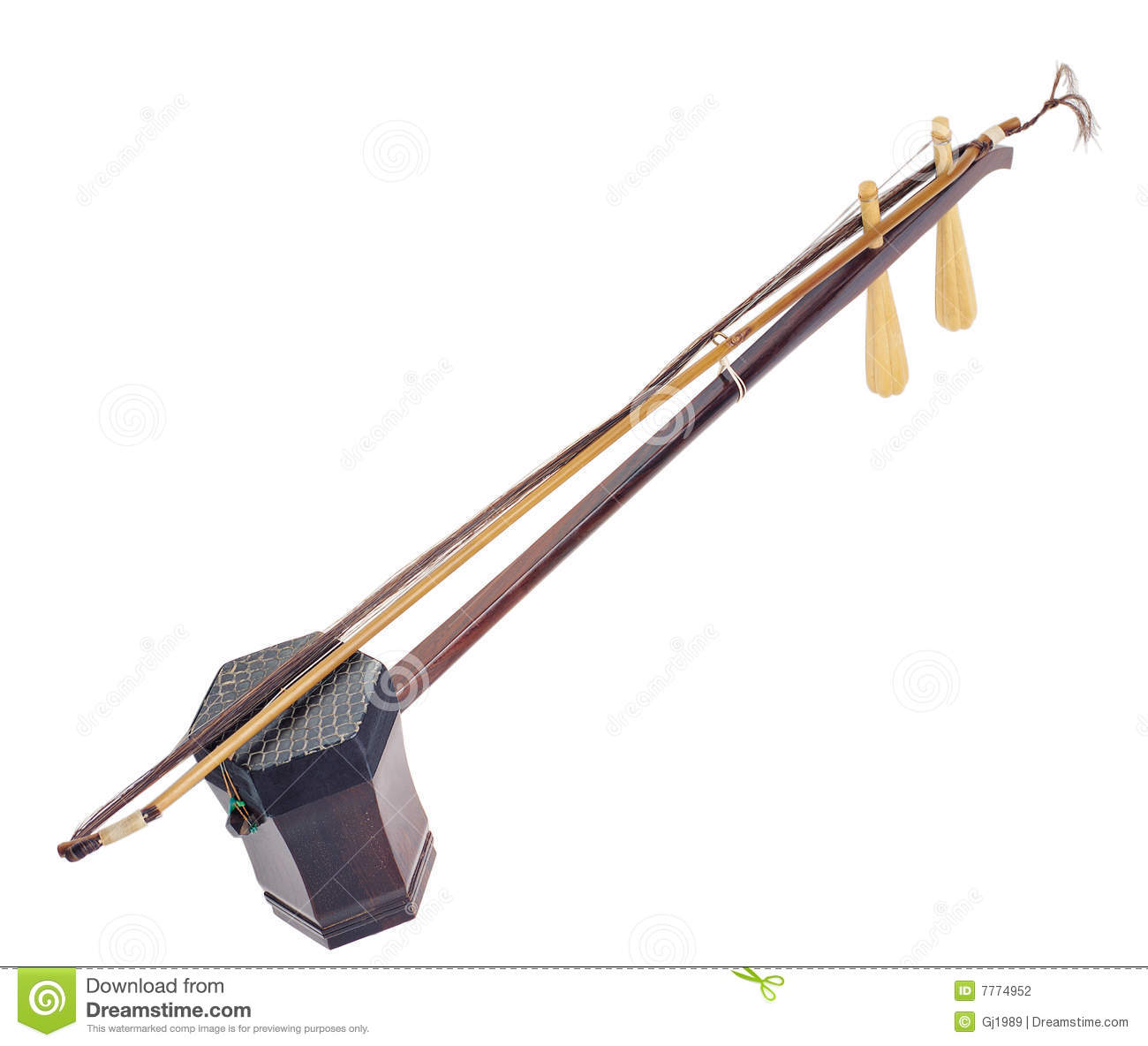 ErHu Musical Instrument Stock Photography - Image: 7774952