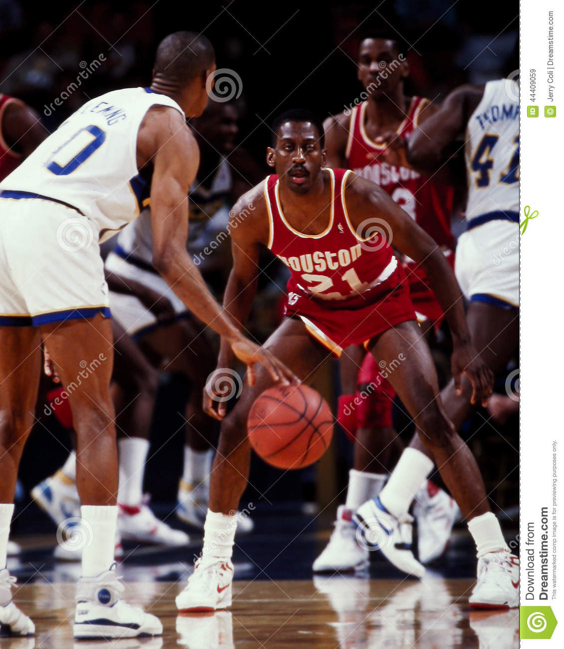 Eric Floyd Houston Rockets Editorial Stock Image Image