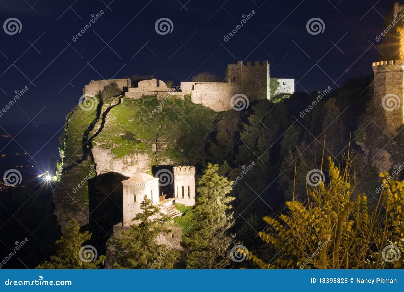 Erice замока
