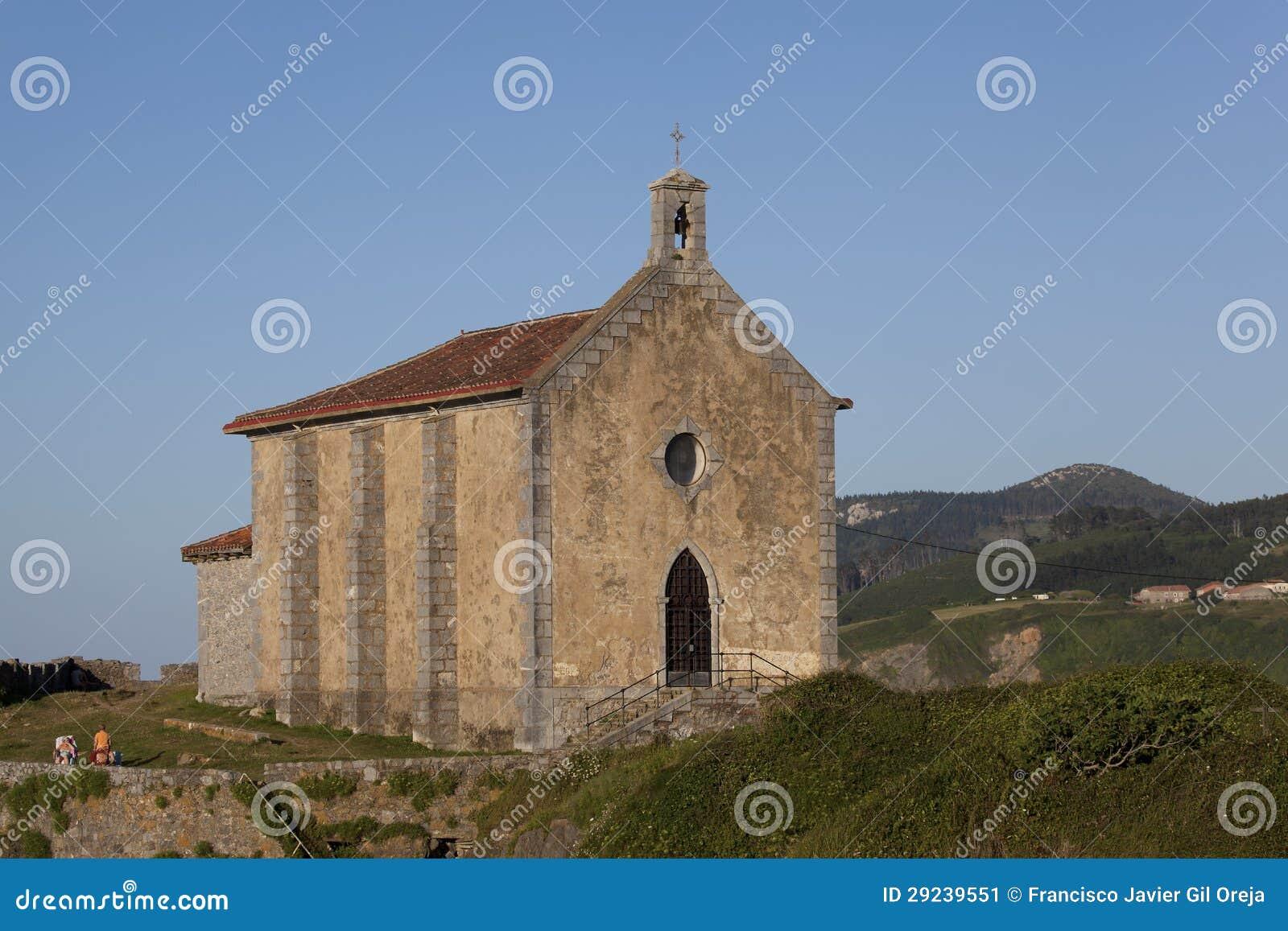 Download Ermitage Em Mundaka, Bizkaia Imagem de Stock - Imagem de antigo, basque: 29239551