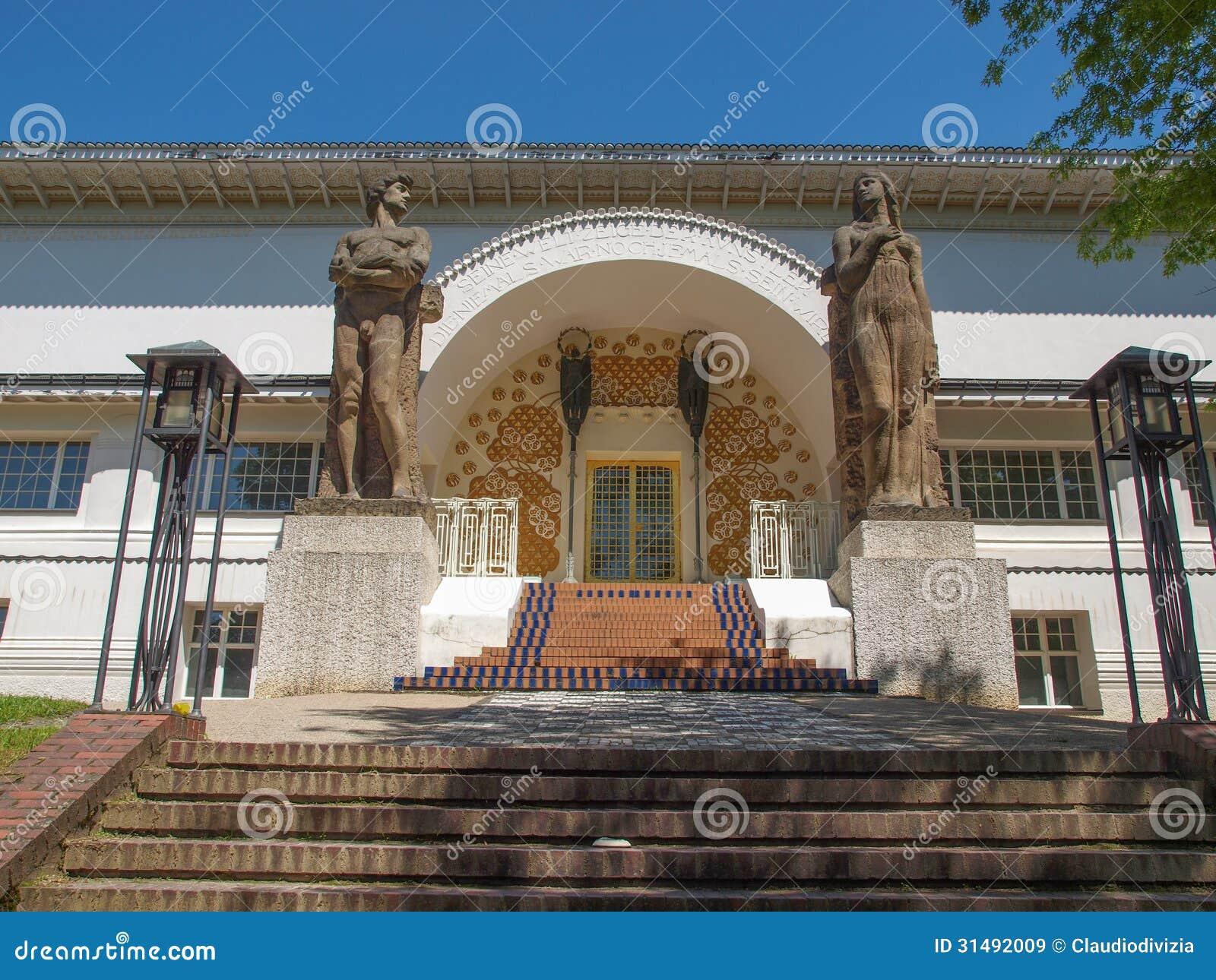 ernst ludwig house in darmstadt stock image image 31492009. Black Bedroom Furniture Sets. Home Design Ideas